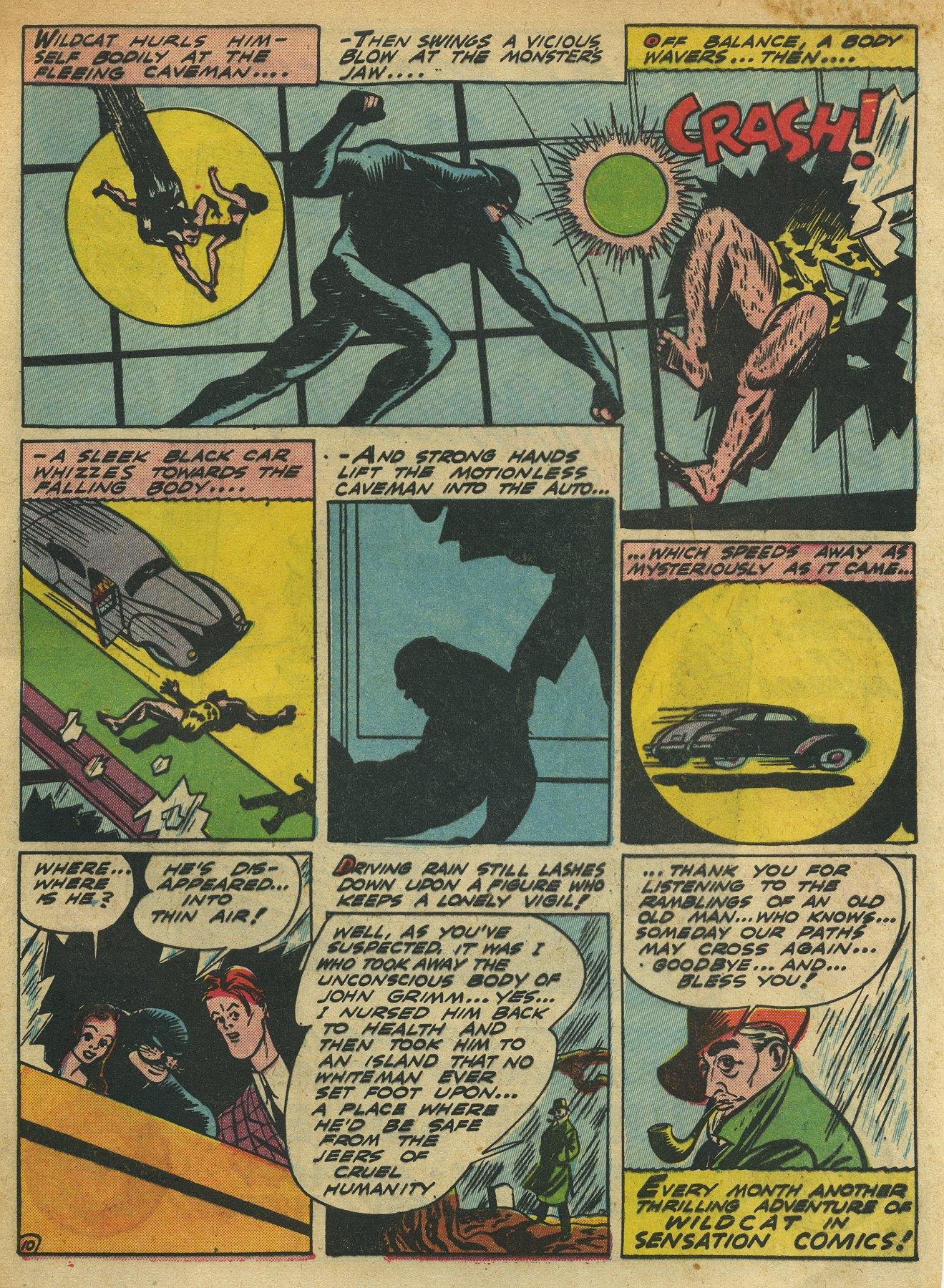 Read online Sensation (Mystery) Comics comic -  Issue #10 - 65