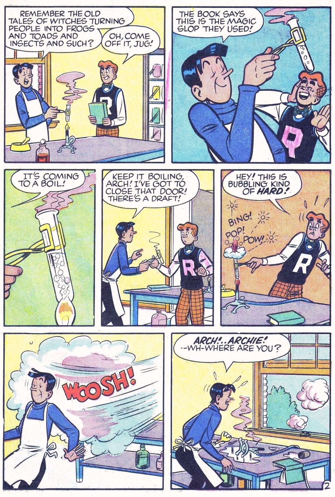 Read online Archie (1960) comic -  Issue #124 - 21