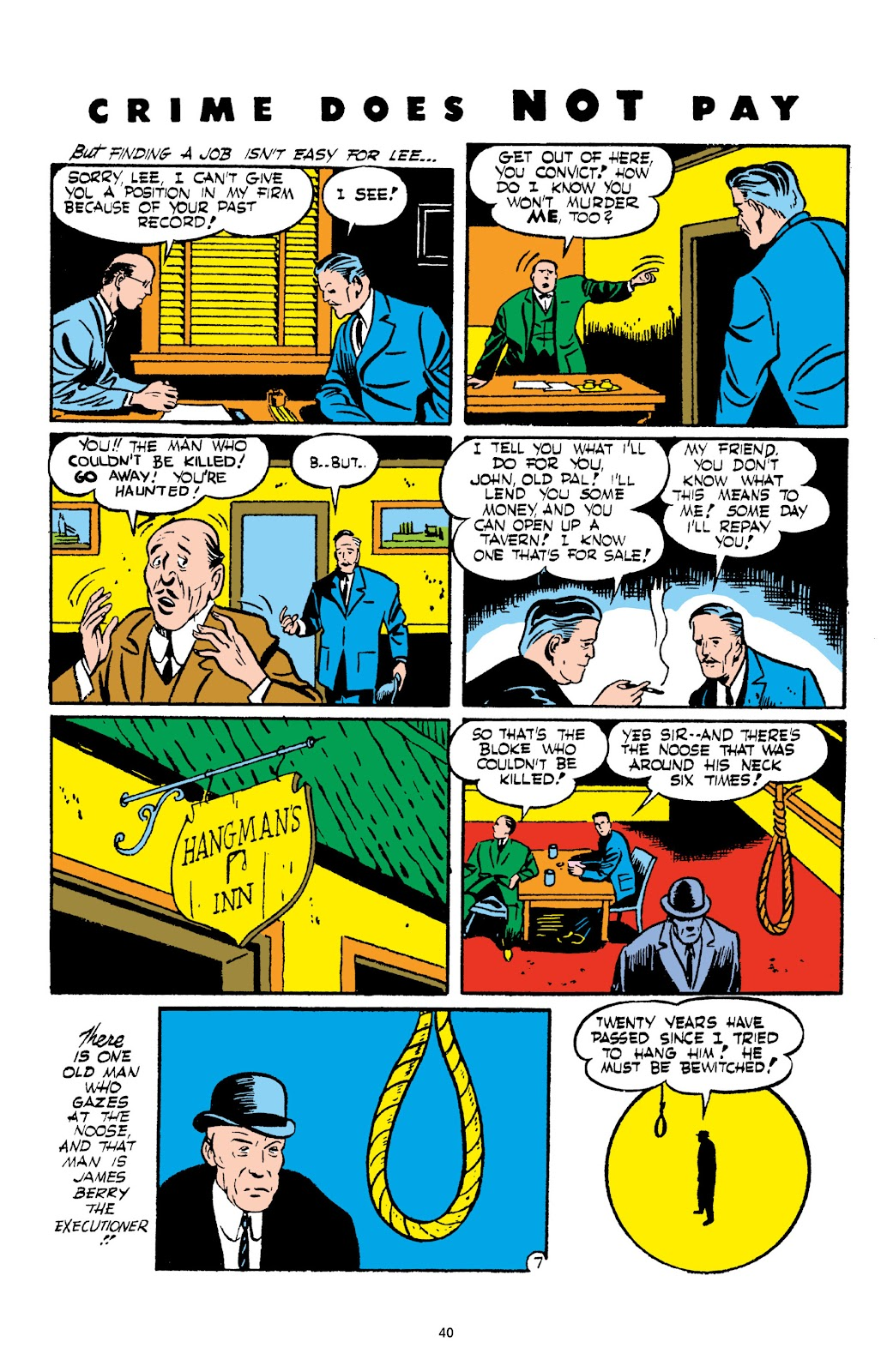 Read online Crime Does Not Pay Archives comic -  Issue # TPB 2 (Part 1) - 40