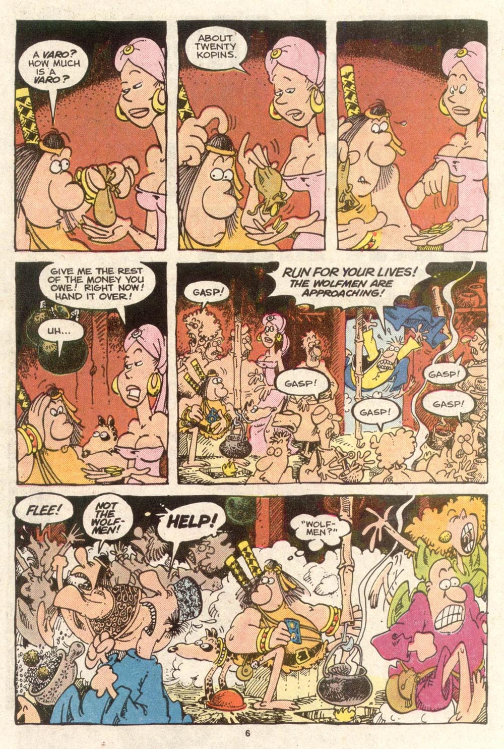 Read online Sergio Aragonés Groo the Wanderer comic -  Issue #49 - 6