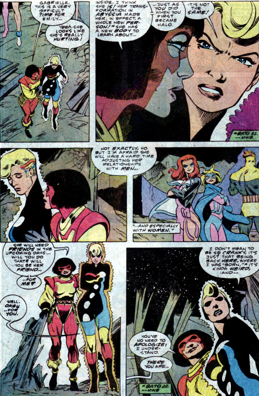 Read online Adventures of the Outsiders comic -  Issue #35 - 7