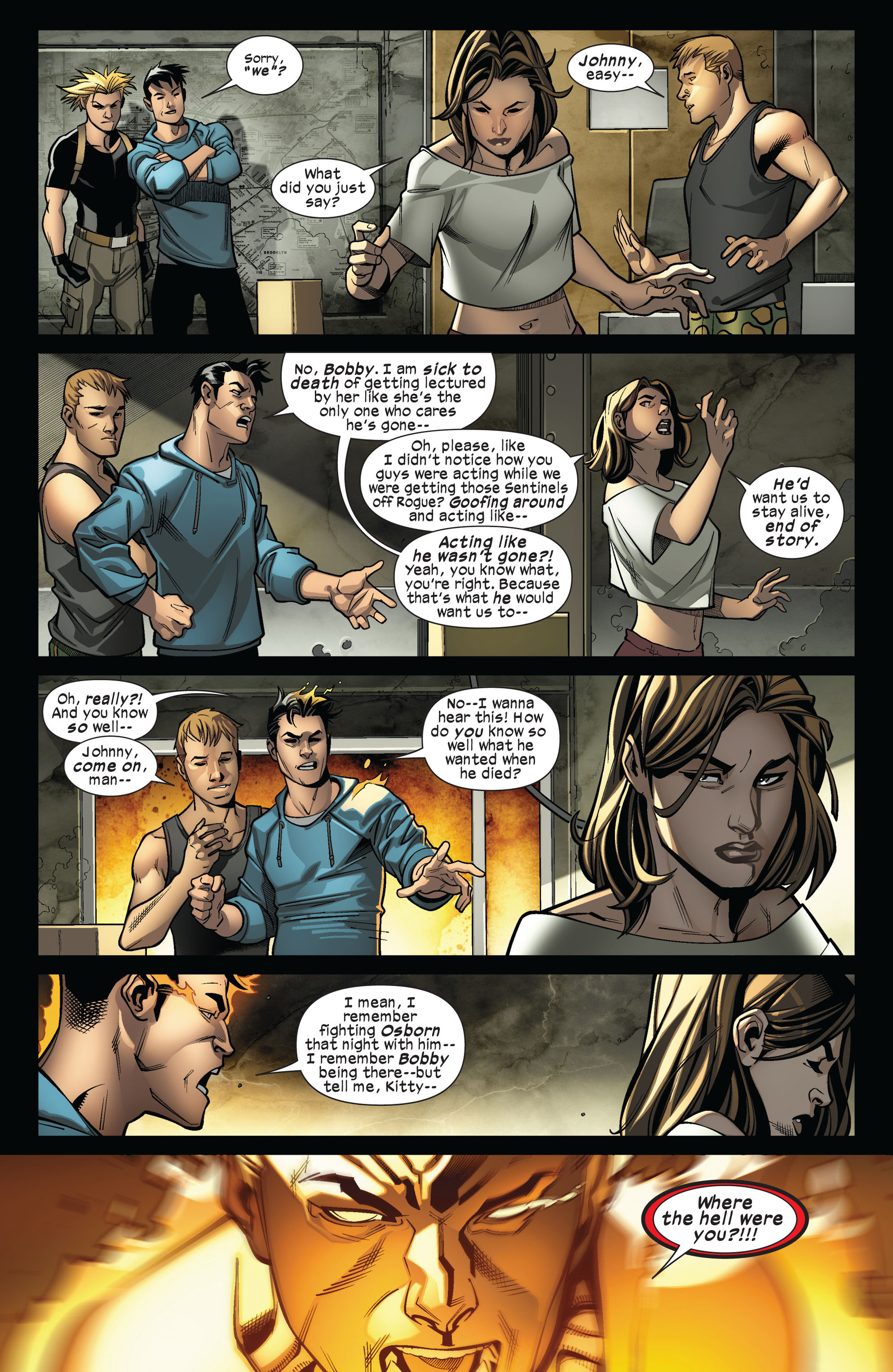 Read online Ultimate Comics X-Men comic -  Issue #4 - 16