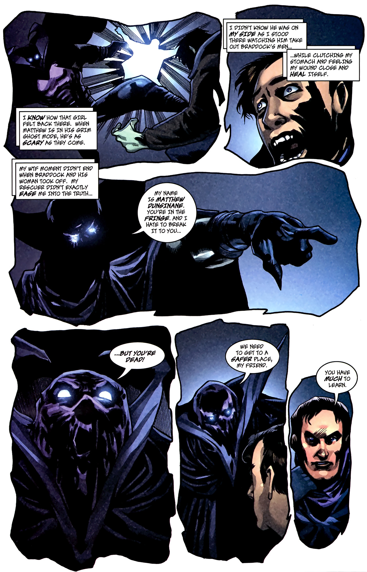 Read online The Grim Ghost comic -  Issue #1 - 13