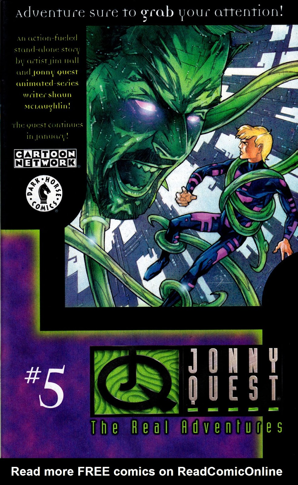 Read online The Real Adventures of Jonny Quest comic -  Issue #4 - 31