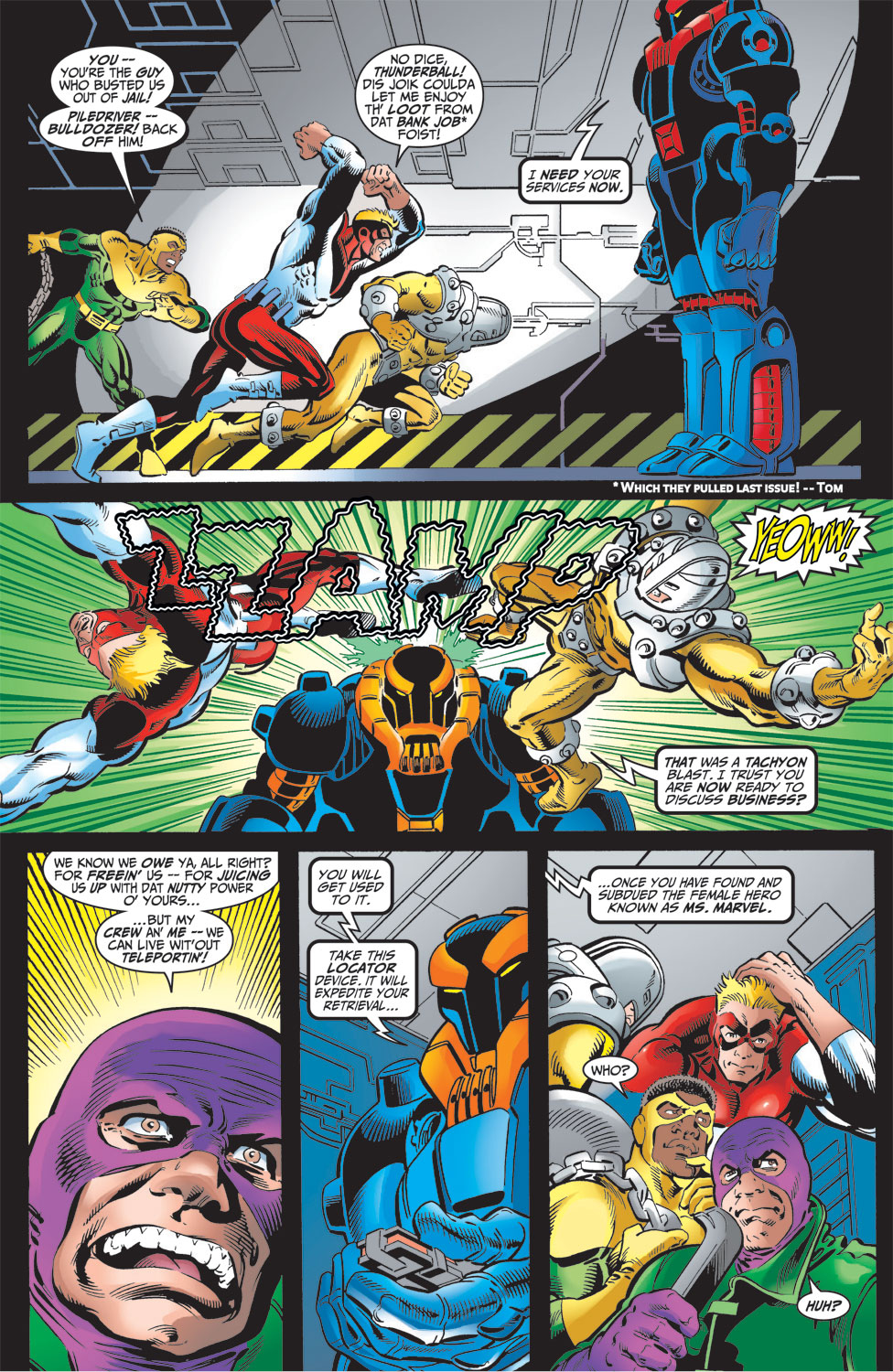 Read online Avengers (1998) comic -  Issue #16 - 3
