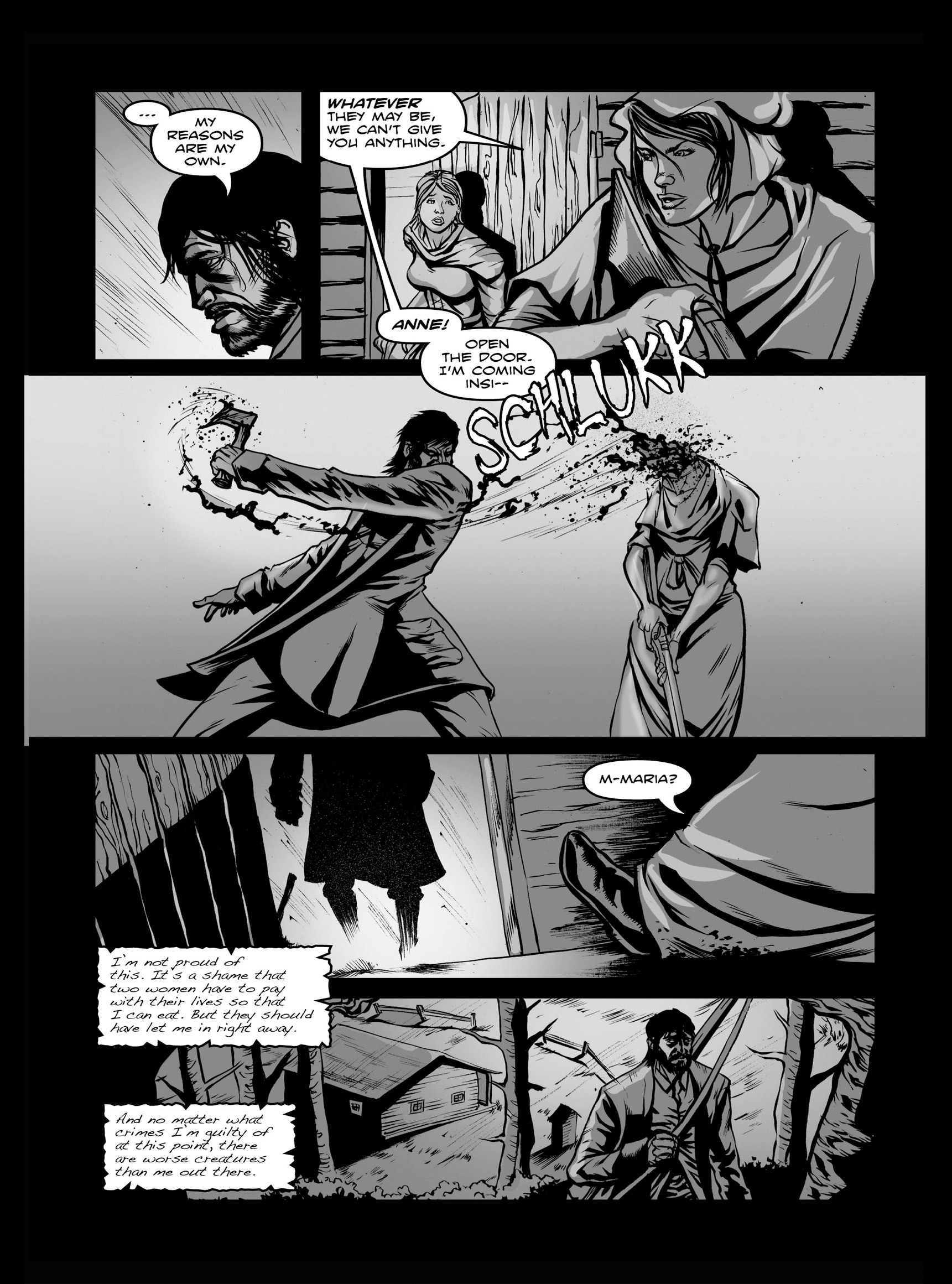 Read online FUBAR comic -  Issue #3 - 59