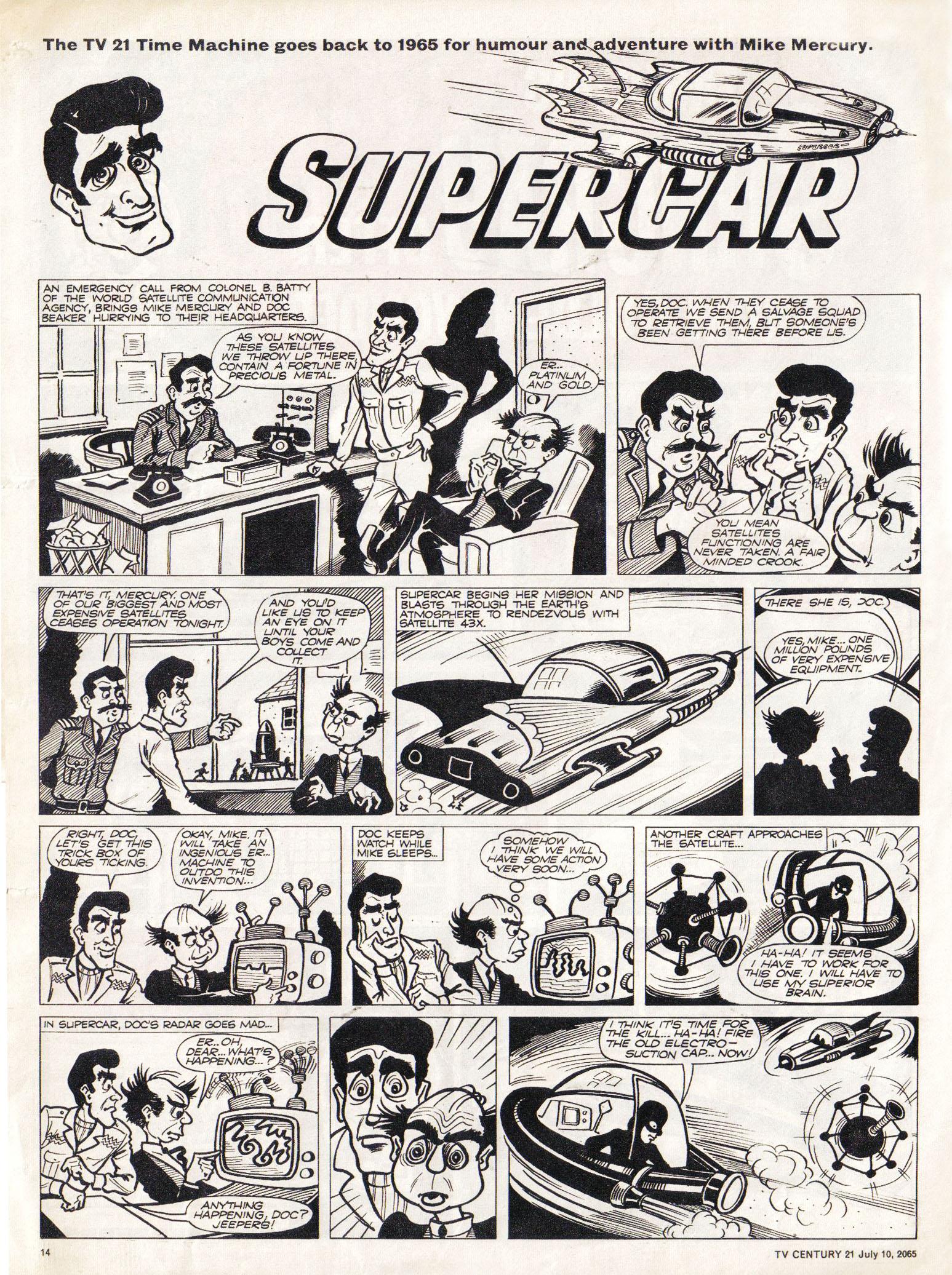 Read online TV Century 21 (TV 21) comic -  Issue #25 - 13