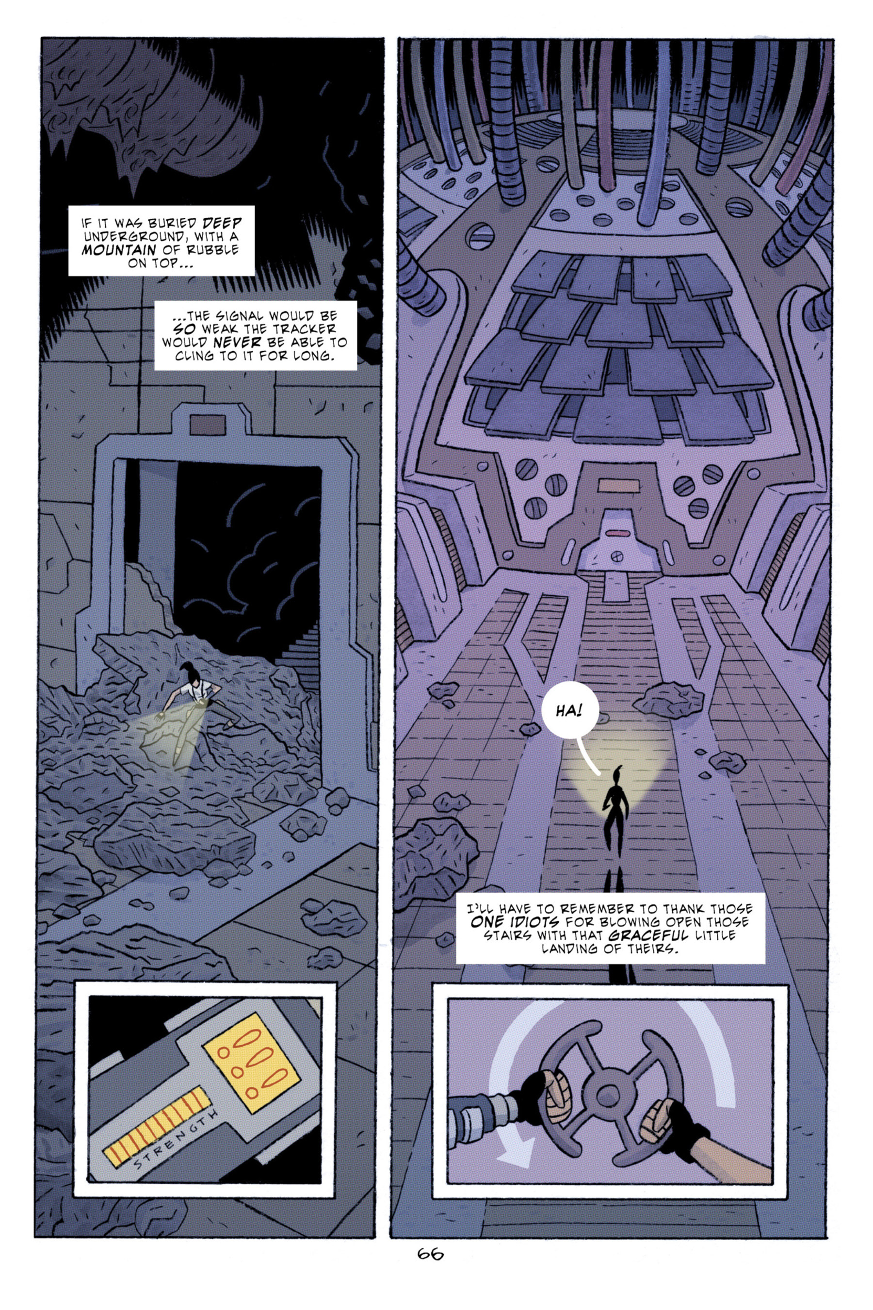 Read online ApocalyptiGirl: An Aria for the End Times comic -  Issue #ApocalyptiGirl: An Aria for the End Times Full - 74