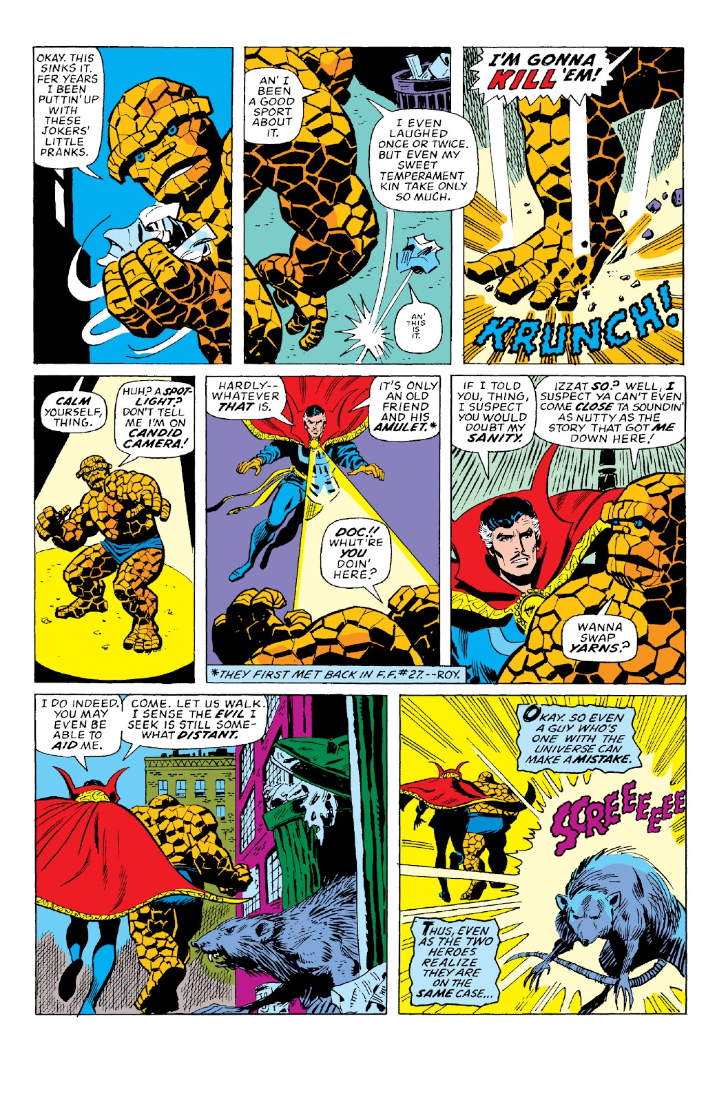 Read online Marvel Two-In-One Epic Collection: Cry Monster comic -  Issue # TPB (Part 2) - 55