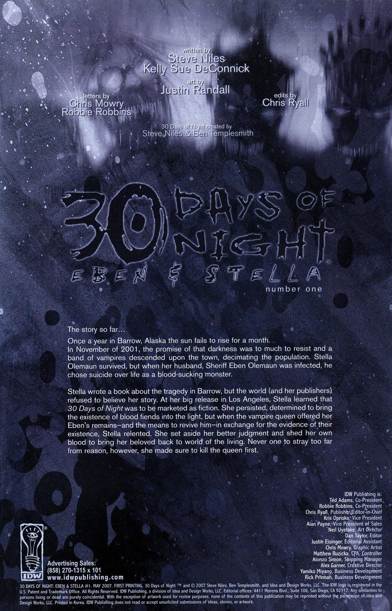 30 Days of Night: Eben & Stella 1 Page 2