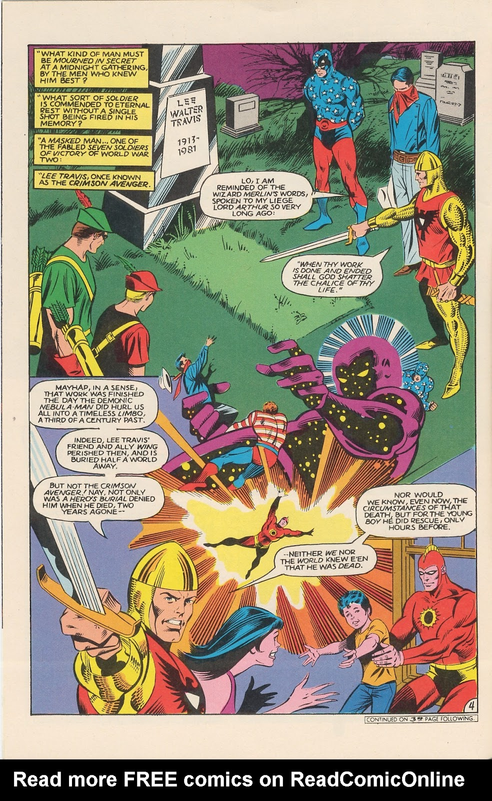 Infinity Inc. (1984) issue 11 - Page 6