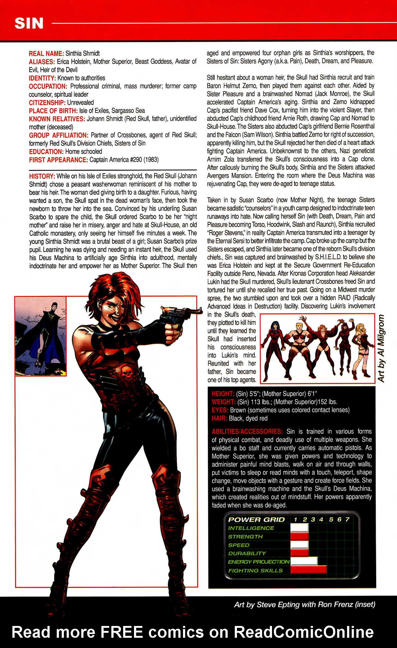 Read online All-New Official Handbook of the Marvel Universe A to Z comic -  Issue #10 - 16