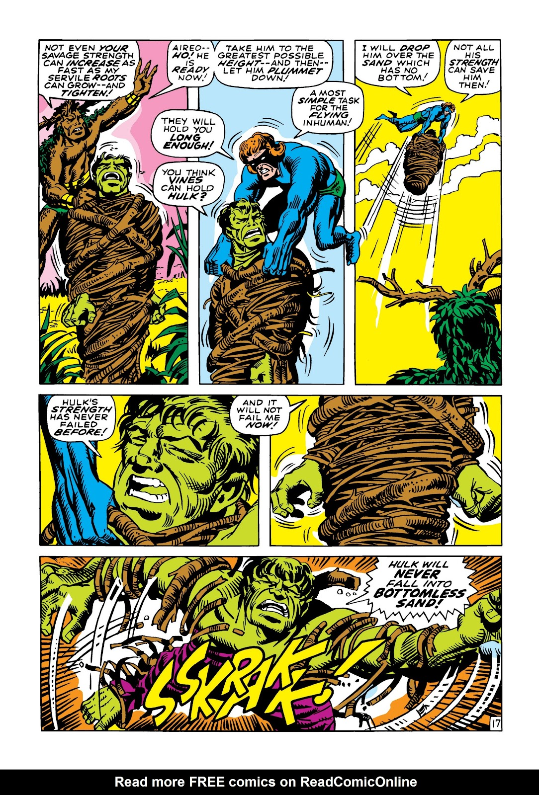 Read online Marvel Masterworks: The Incredible Hulk comic -  Issue # TPB 5 (Part 2) - 91