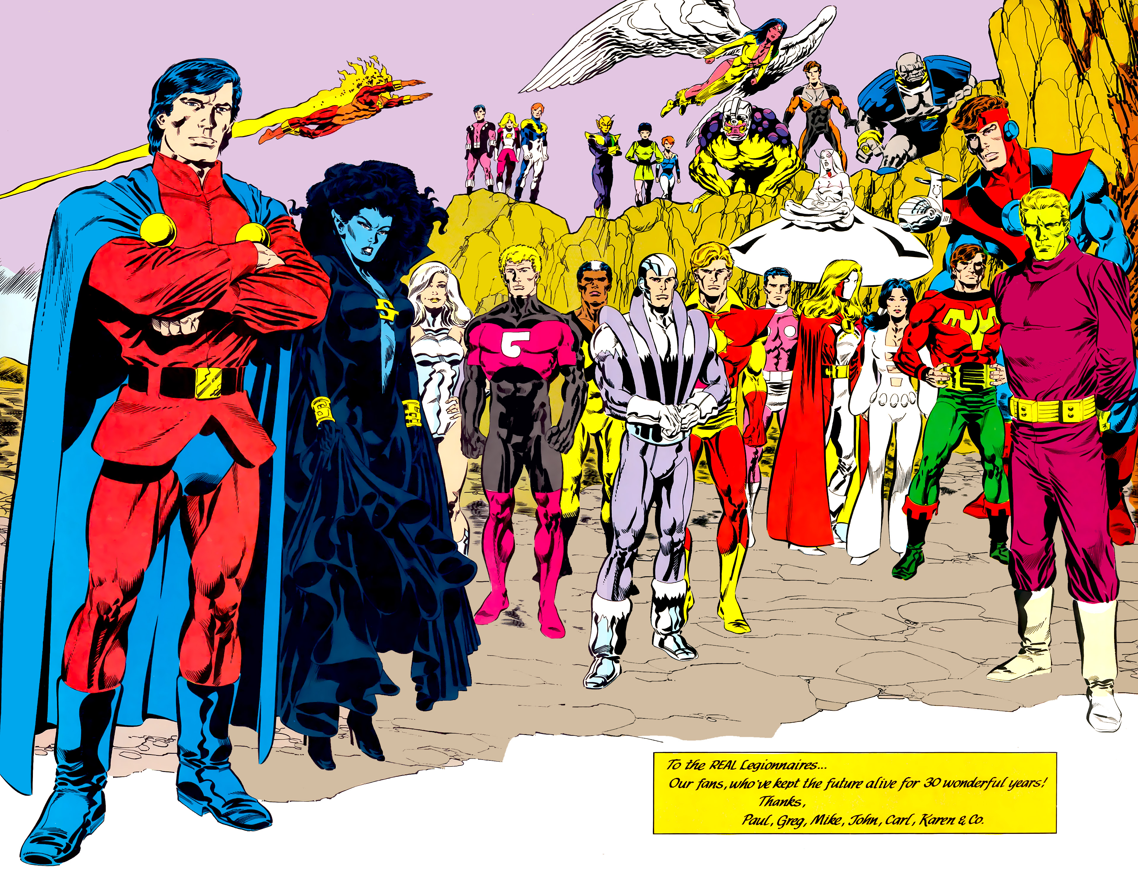 Legion of Super-Heroes (1984) 45 Page 57