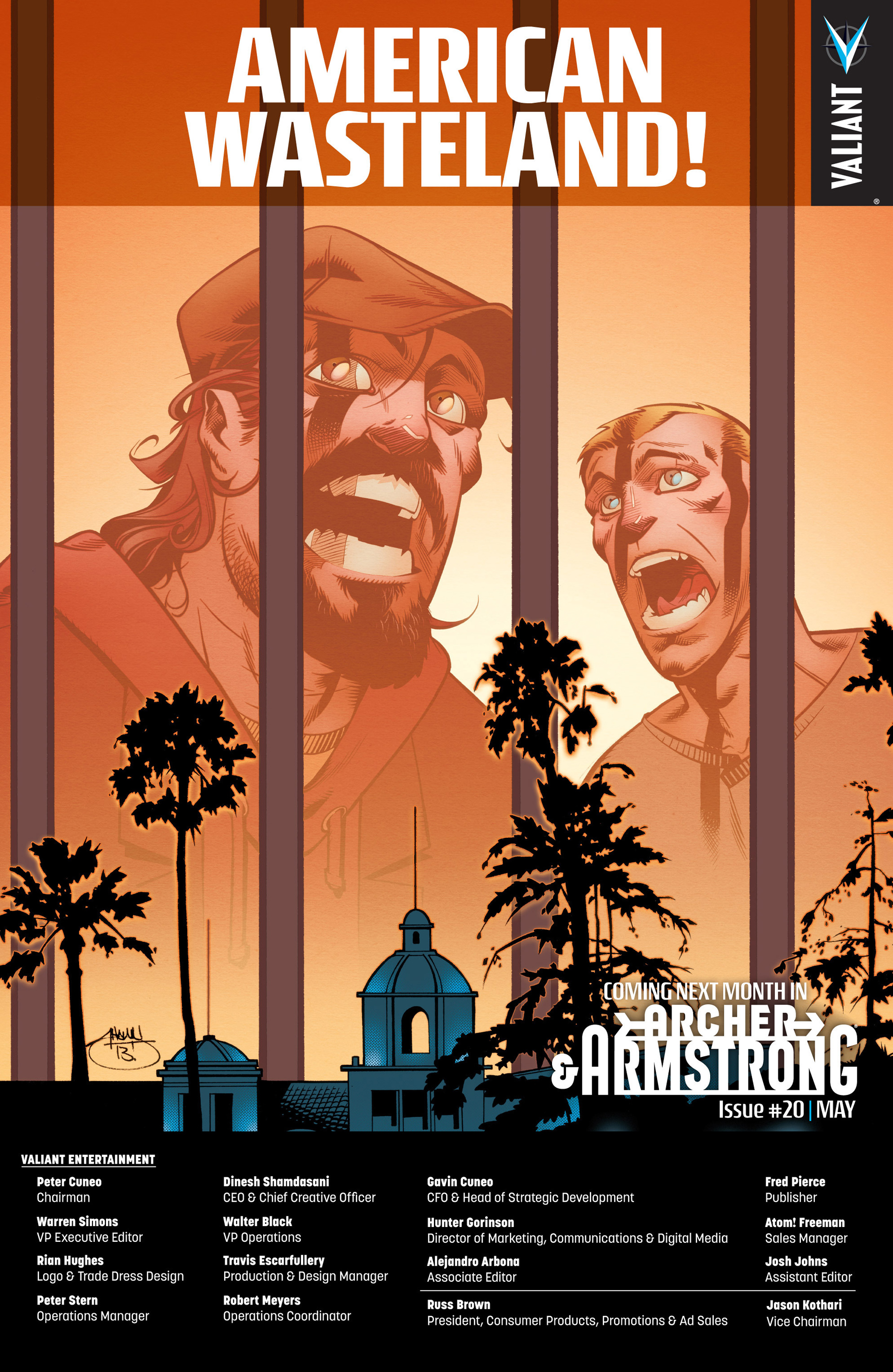 Read online Archer and Armstrong comic -  Issue #19 - 25