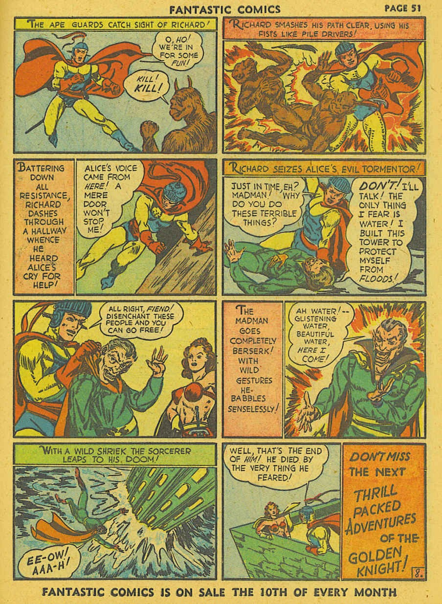 Read online Fantastic Comics comic -  Issue #19 - 42