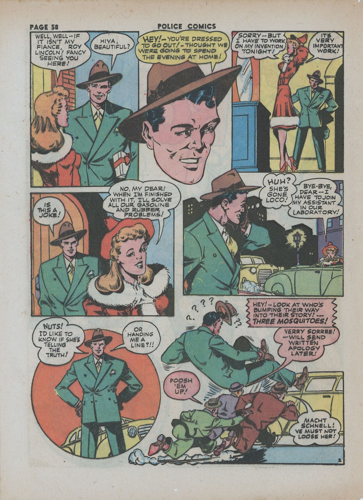 Police Comics issue 18 - Page 60