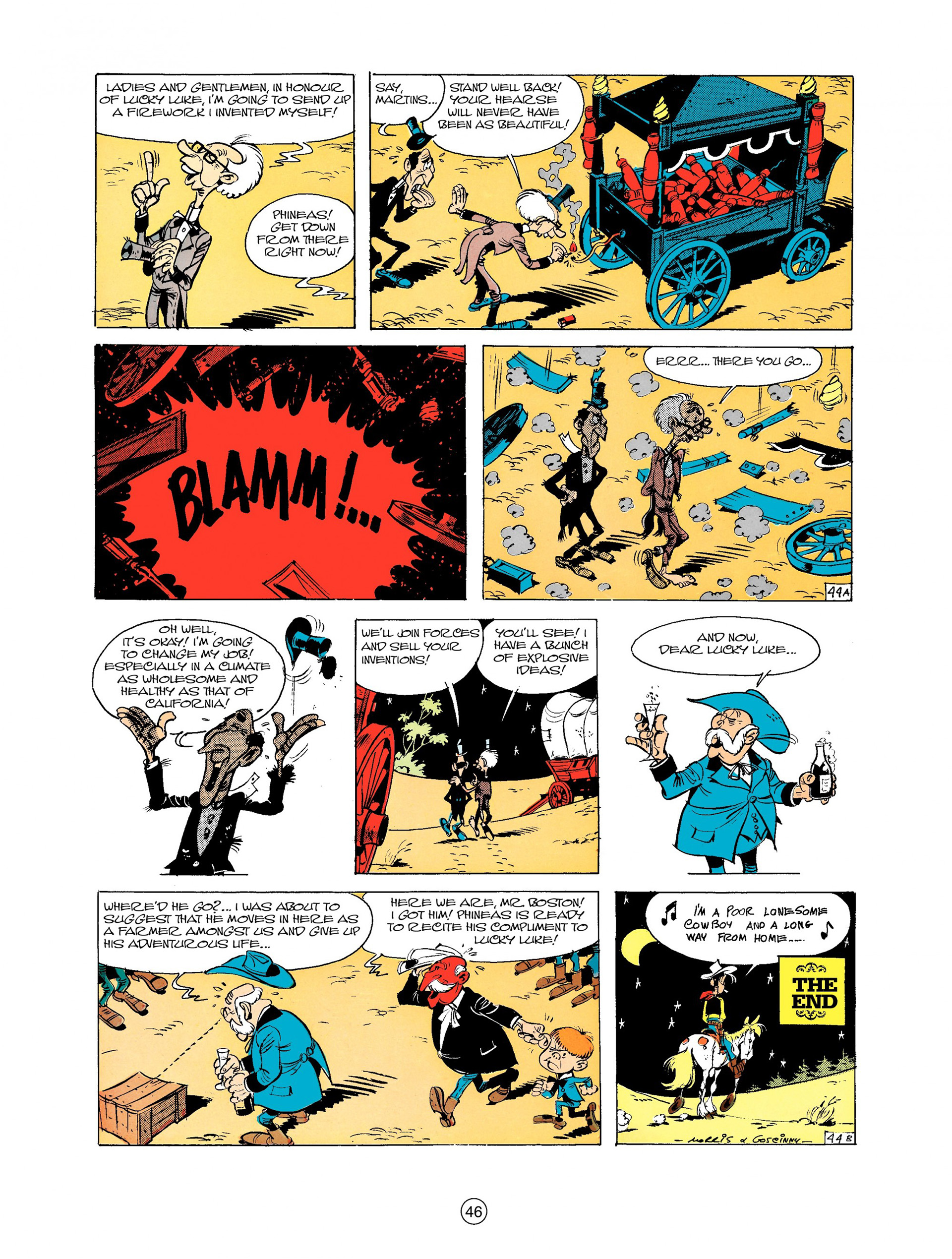 Read online A Lucky Luke Adventure comic -  Issue #9 - 46