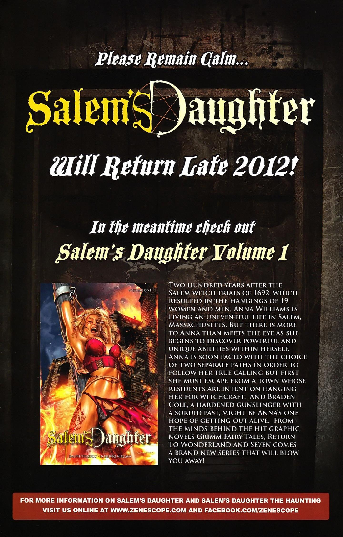 Read online Salem's Daughter: The Haunting comic -  Issue #5 - 28