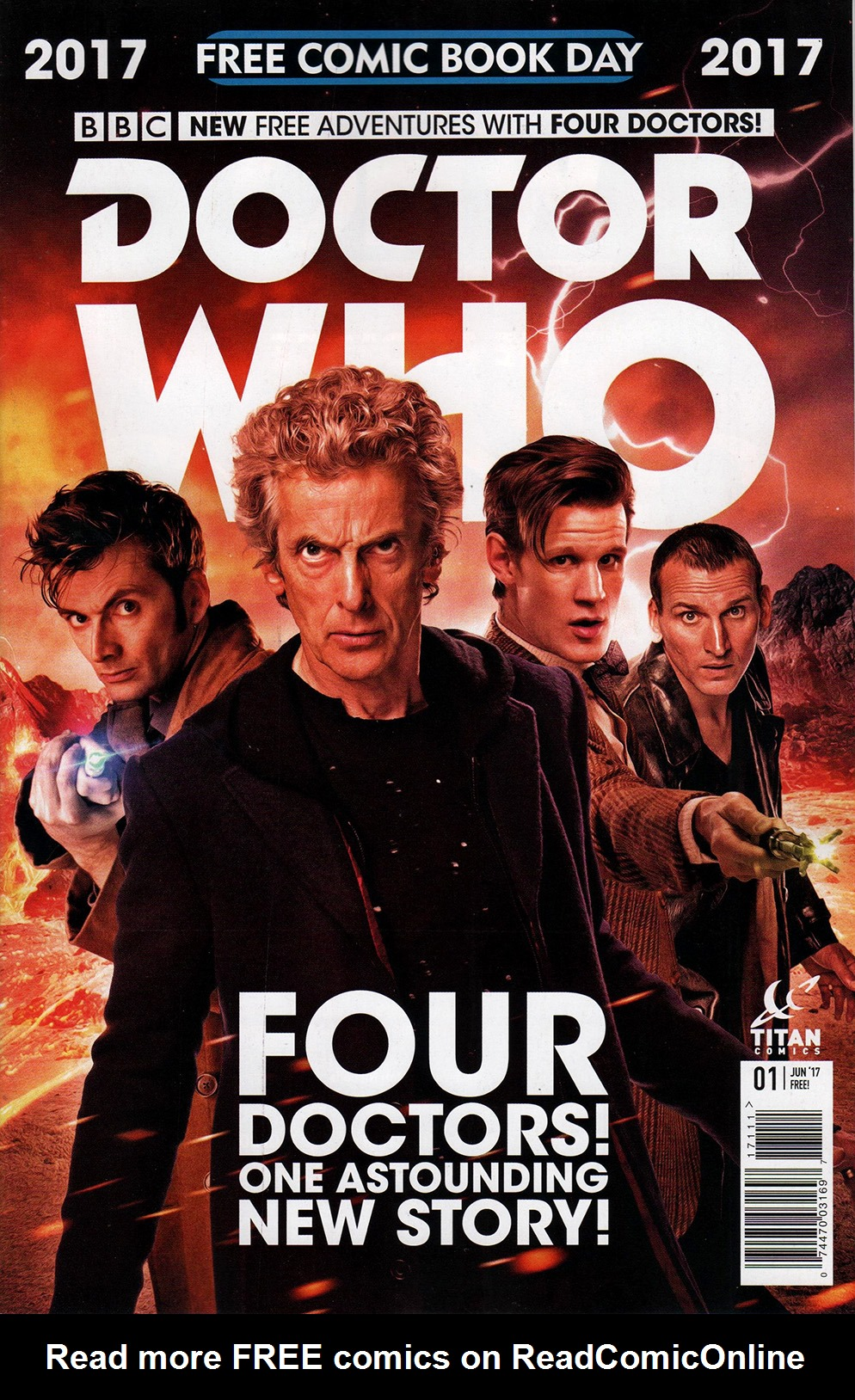 Read online Free Comic Book Day 2017 comic -  Issue # Doctor Who - 1
