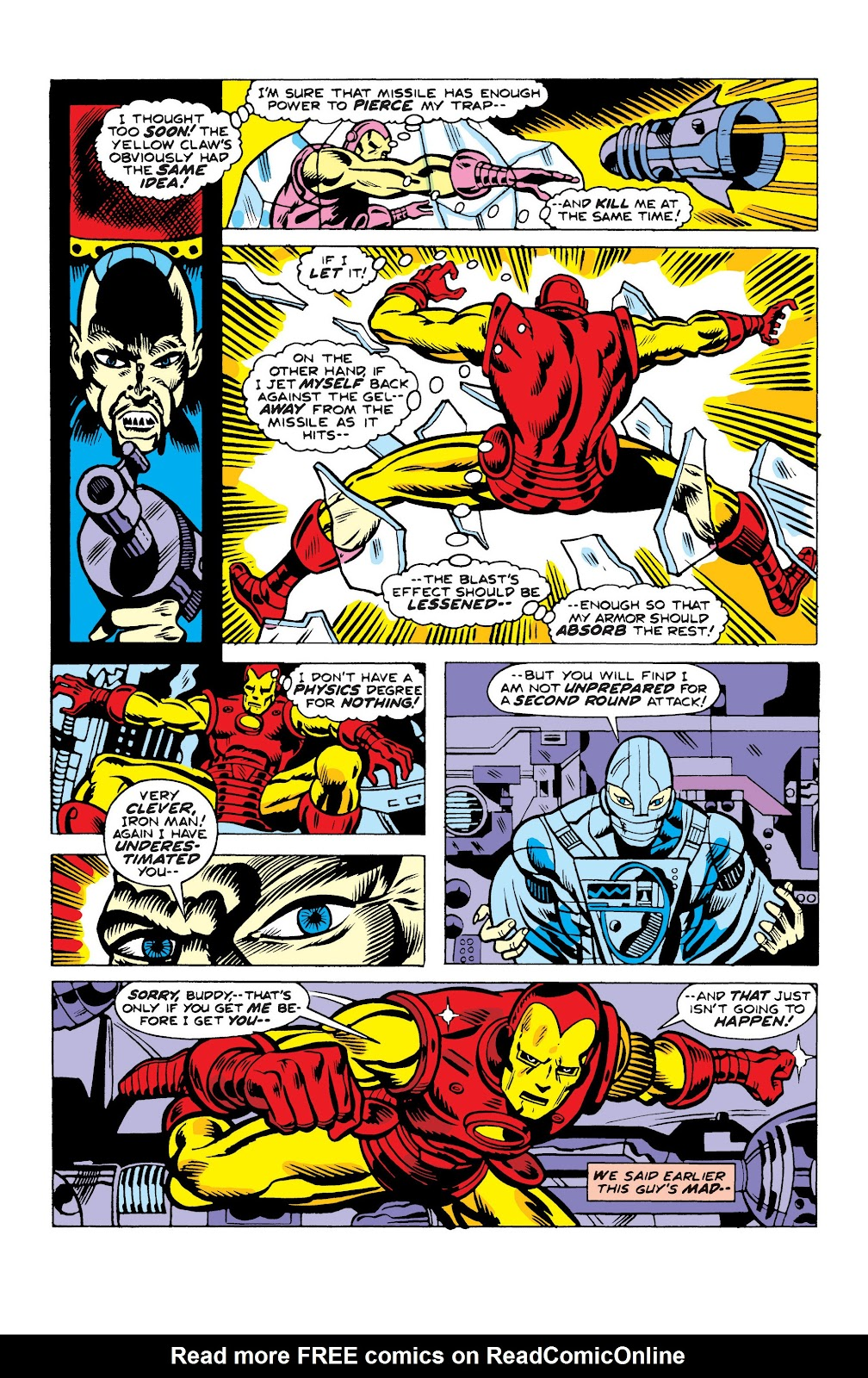 Read online Marvel Masterworks: The Invincible Iron Man comic -  Issue # TPB 10 (Part 2) - 64