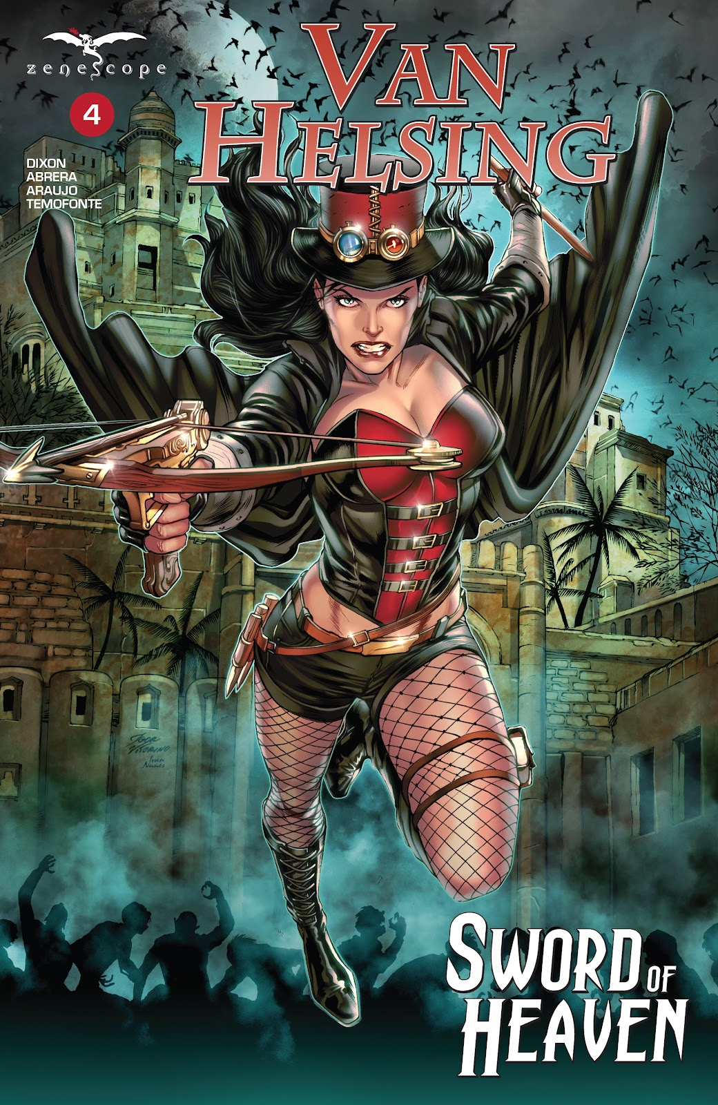 Read online Van Helsing: Sword of Heaven comic -  Issue #4 - 1