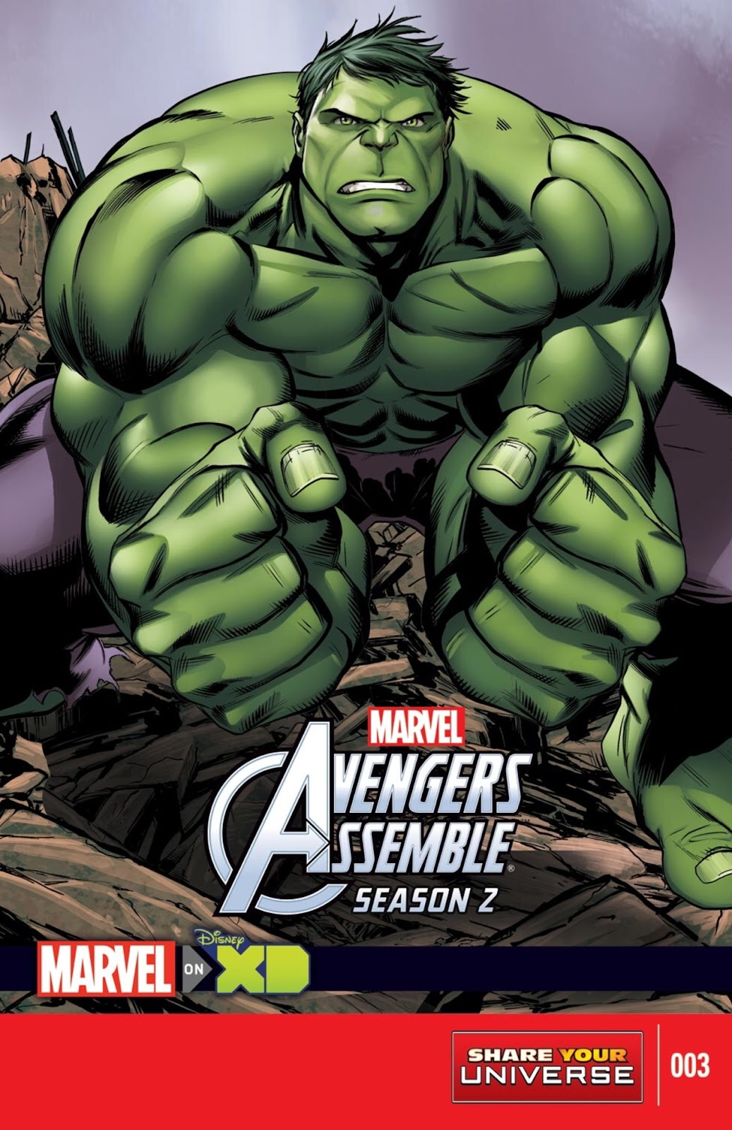 Read online Marvel Universe Avengers Assemble Season 2 comic -  Issue #3 - 1
