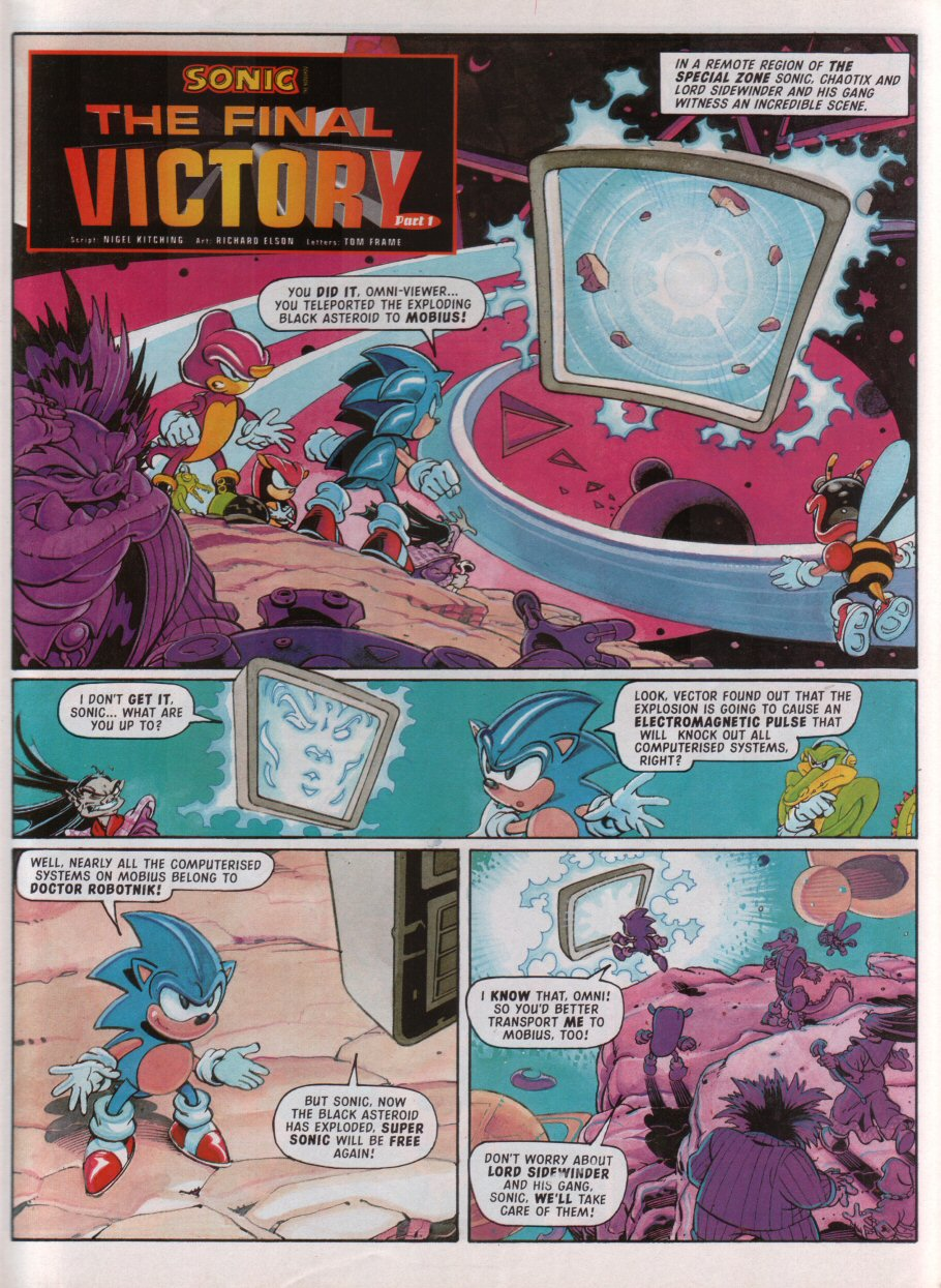 Read online Sonic the Comic comic -  Issue #100 - 3