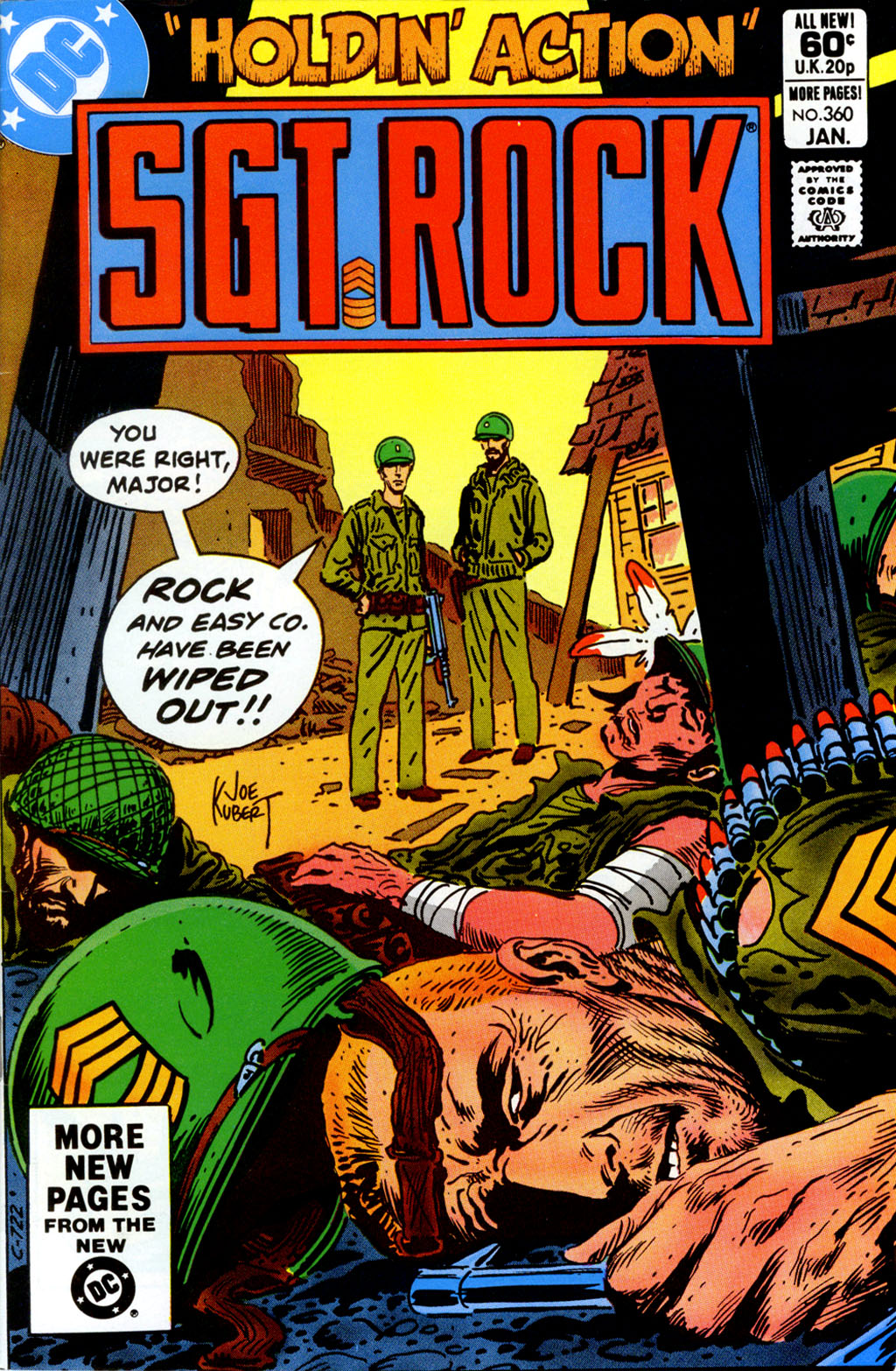 Sgt. Rock issue 360 - Page 1