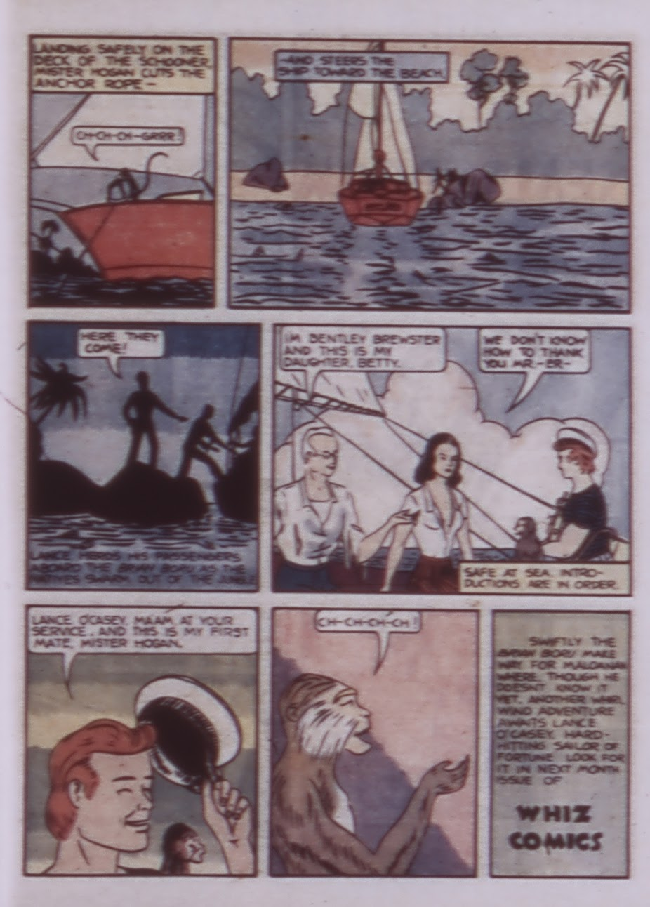 Read online WHIZ Comics comic -  Issue #1 - 57