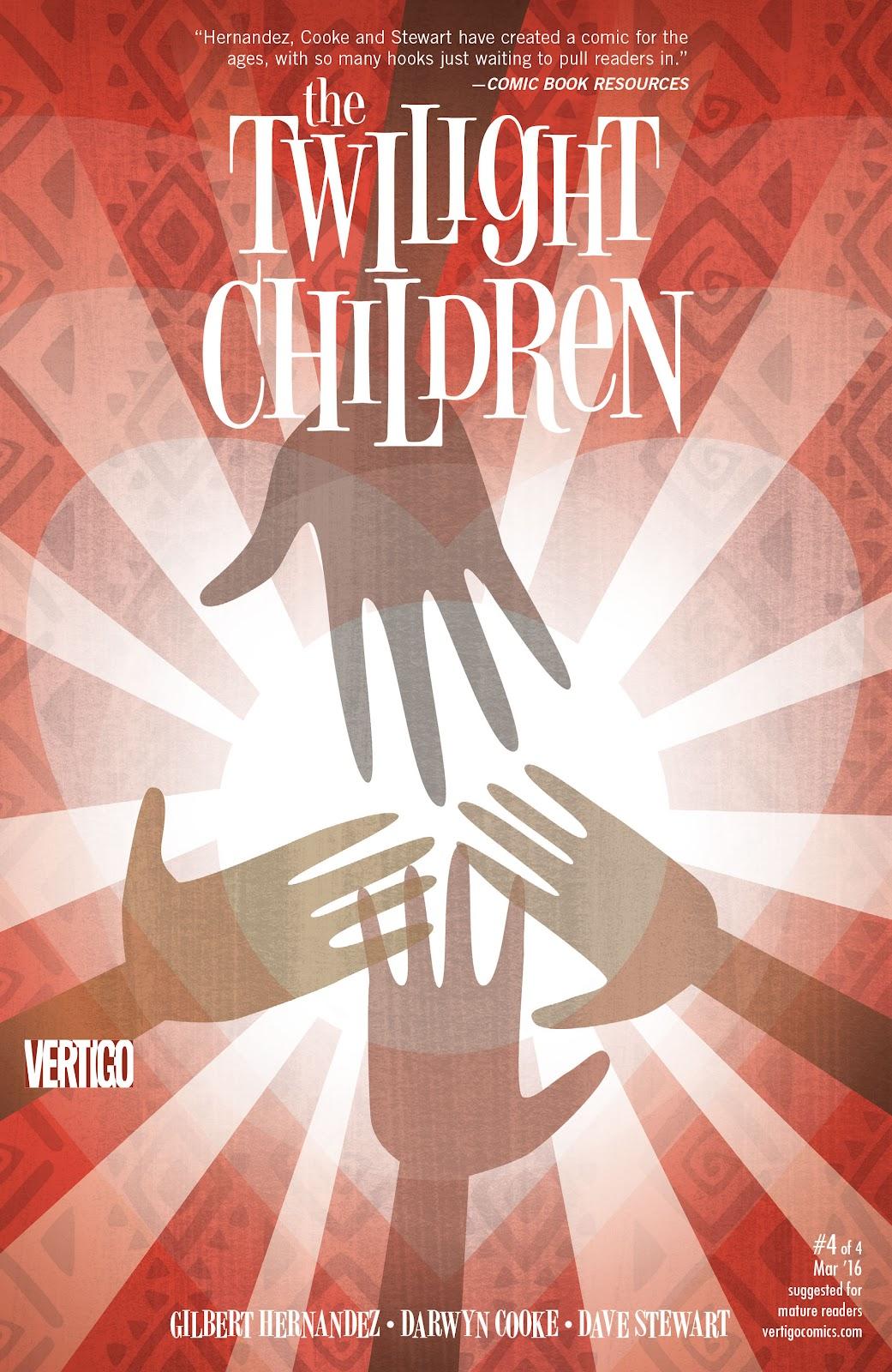 Read online The Twilight Children comic -  Issue #4 - 1