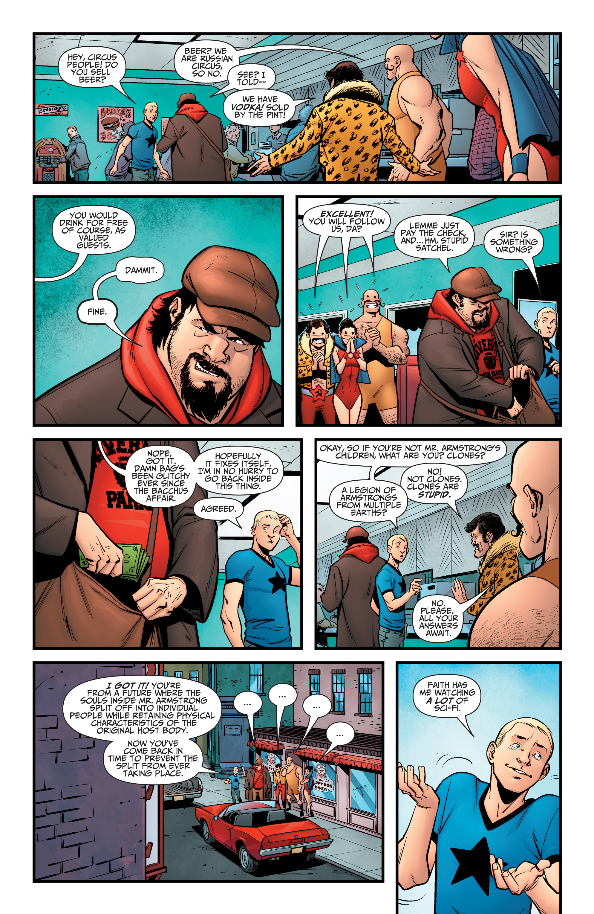 Read online A&A: The Adventures of Archer & Armstrong comic -  Issue #6 - 12