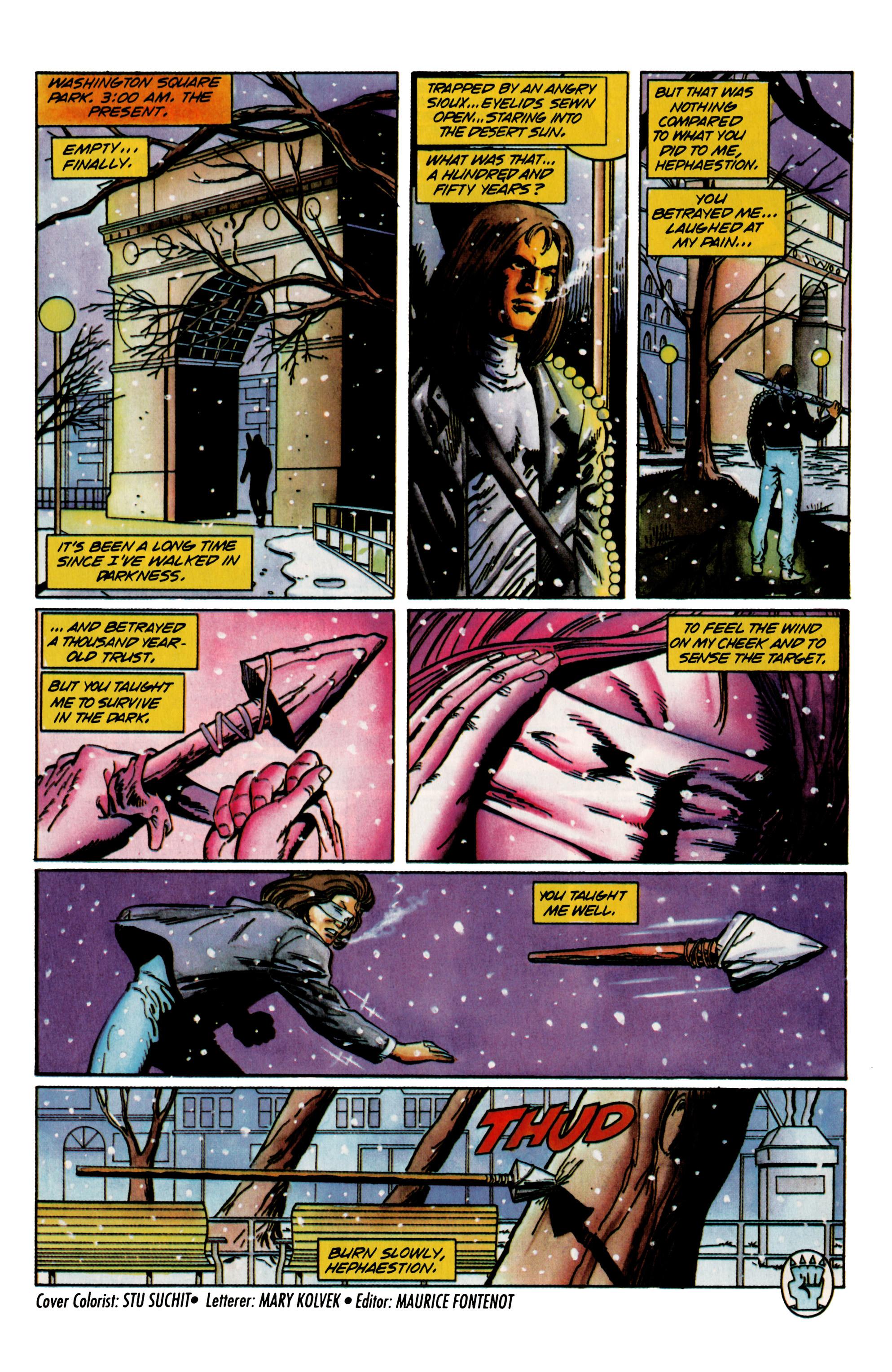 Read online Eternal Warrior (1992) comic -  Issue #23 - 22