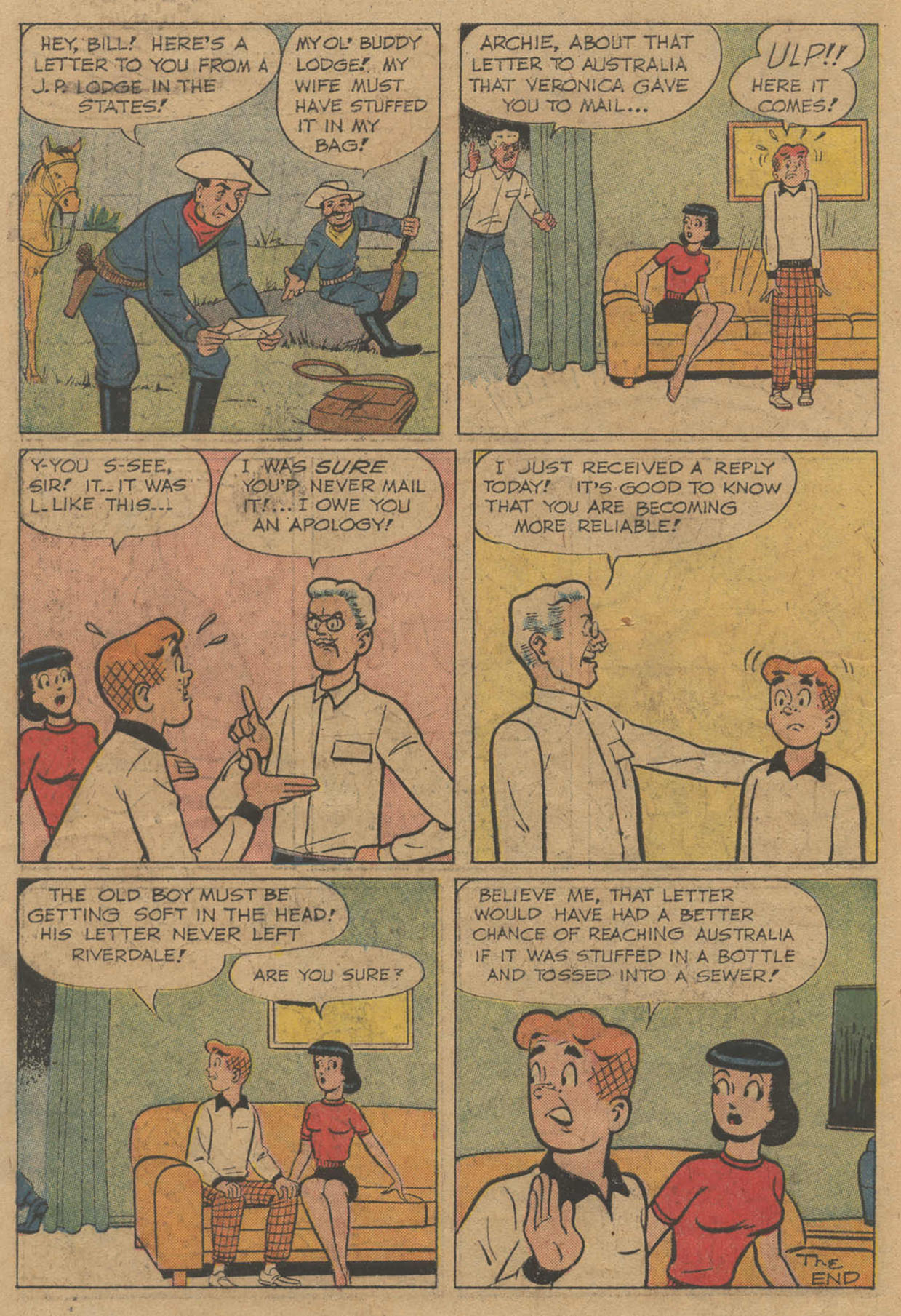 Read online Archie (1960) comic -  Issue #141 - 18