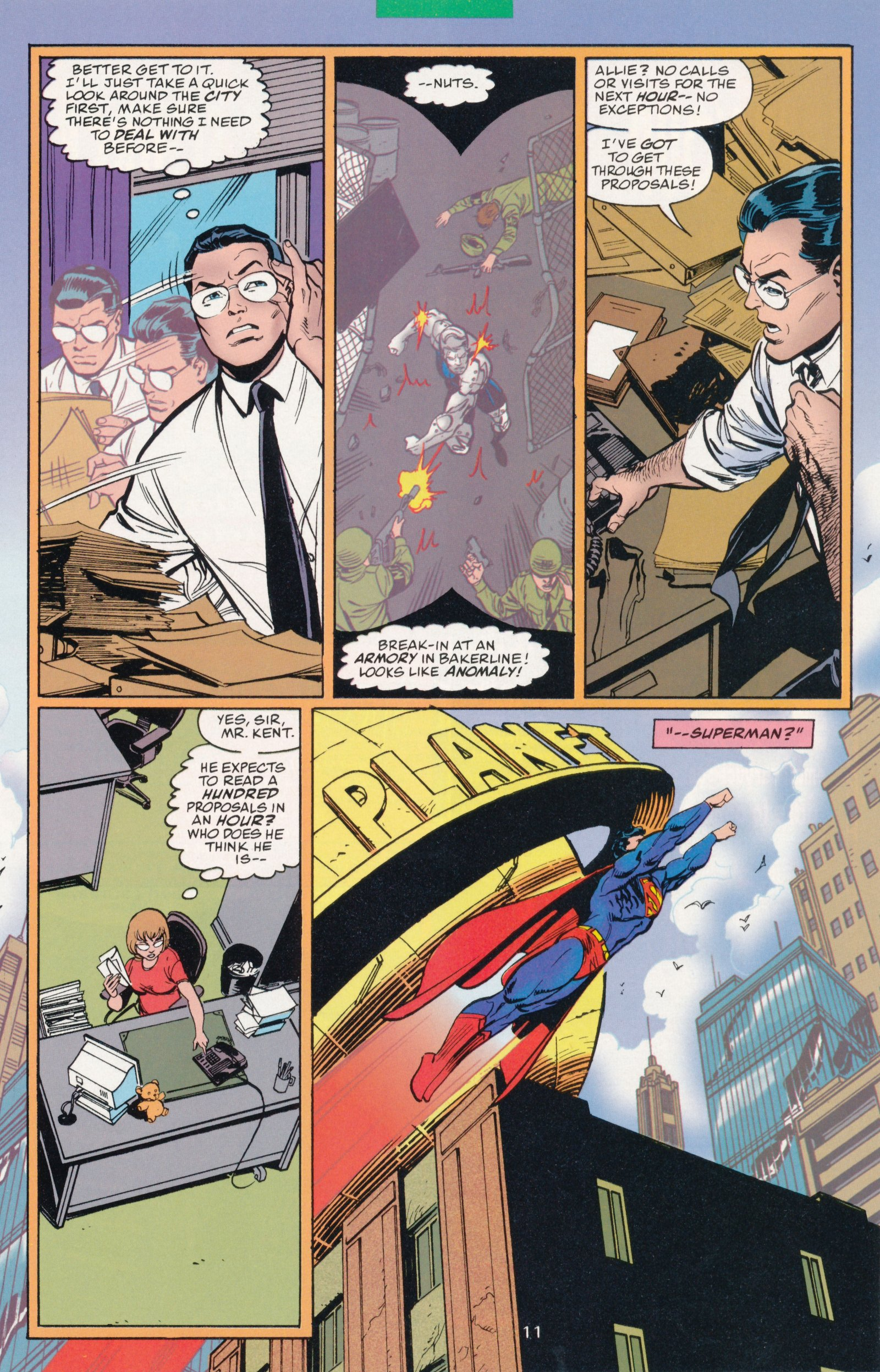 Read online Action Comics (1938) comic -  Issue #730 - 15