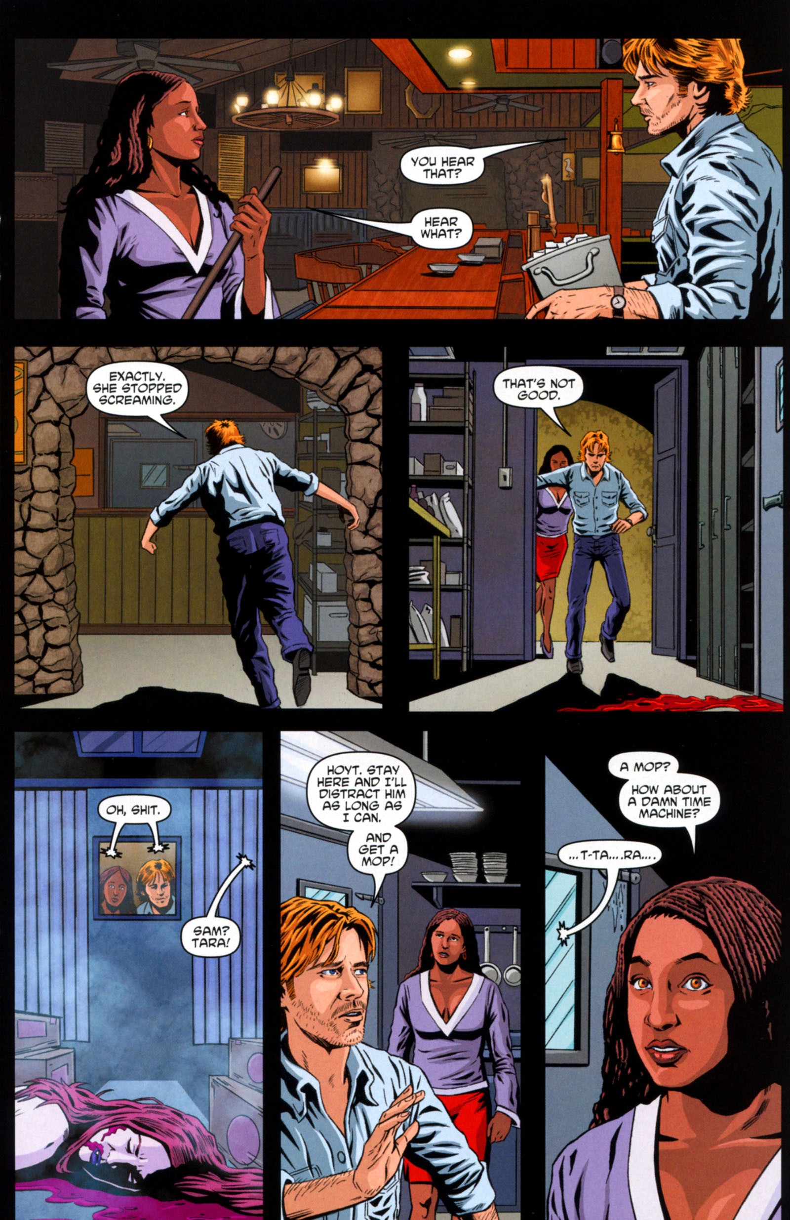 Read online True Blood: Tainted Love comic -  Issue #6 - 15