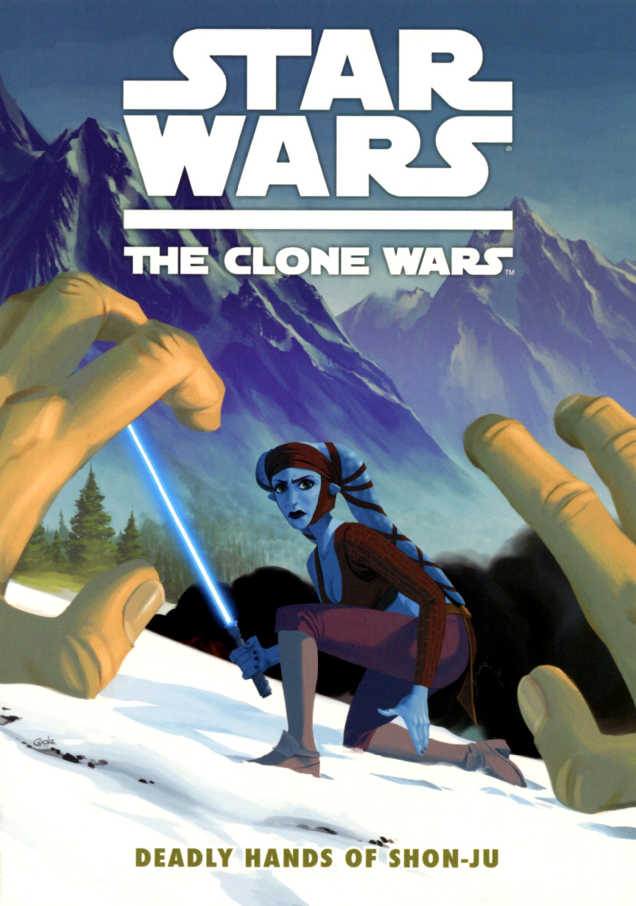 Read online Star Wars: The Clone Wars - Deadly Hands of Shon-Ju comic -  Issue # Full - 1