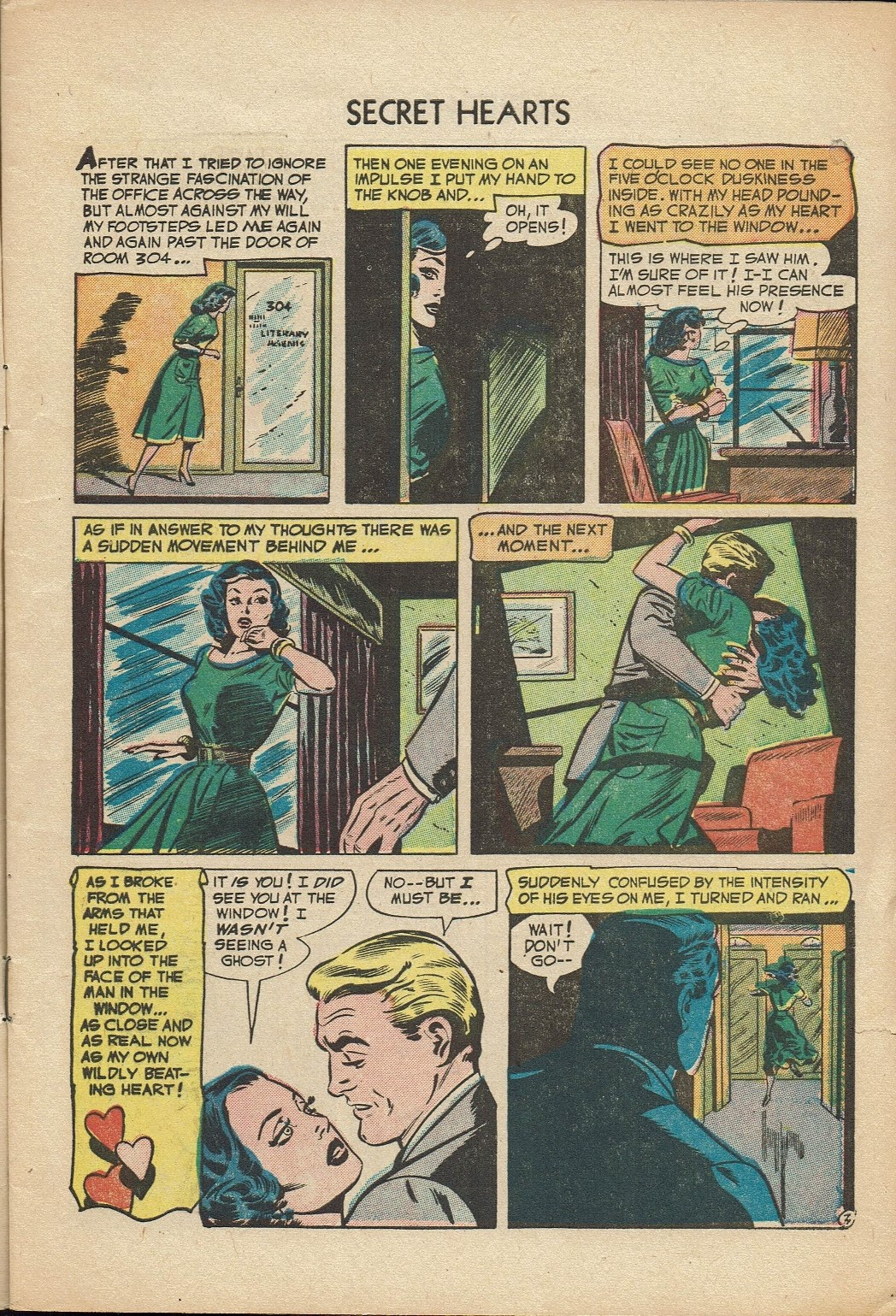 Read online Secret Hearts comic -  Issue #14 - 5