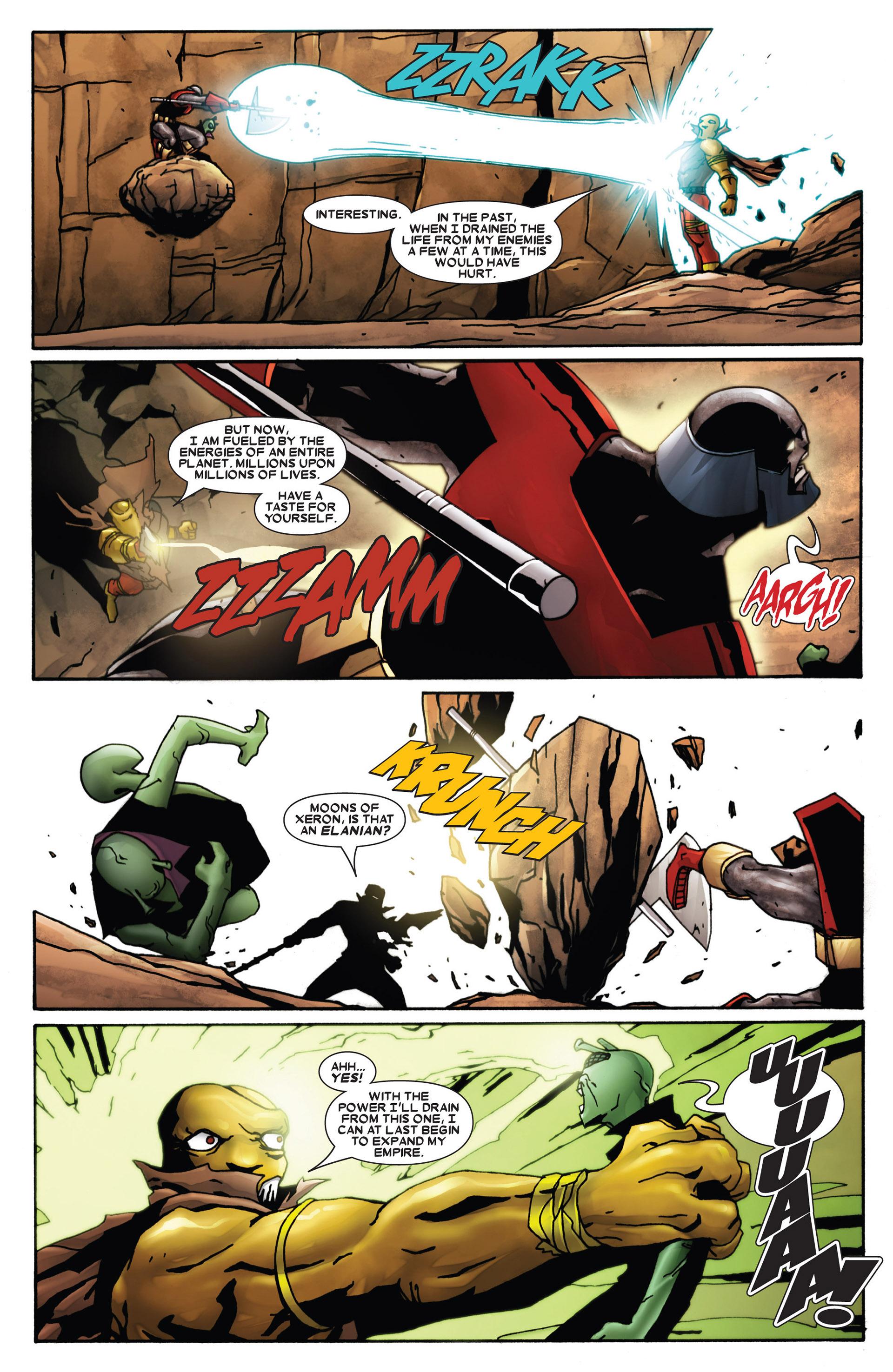Read online Annihilation: Heralds Of Galactus comic -  Issue #1 - 16