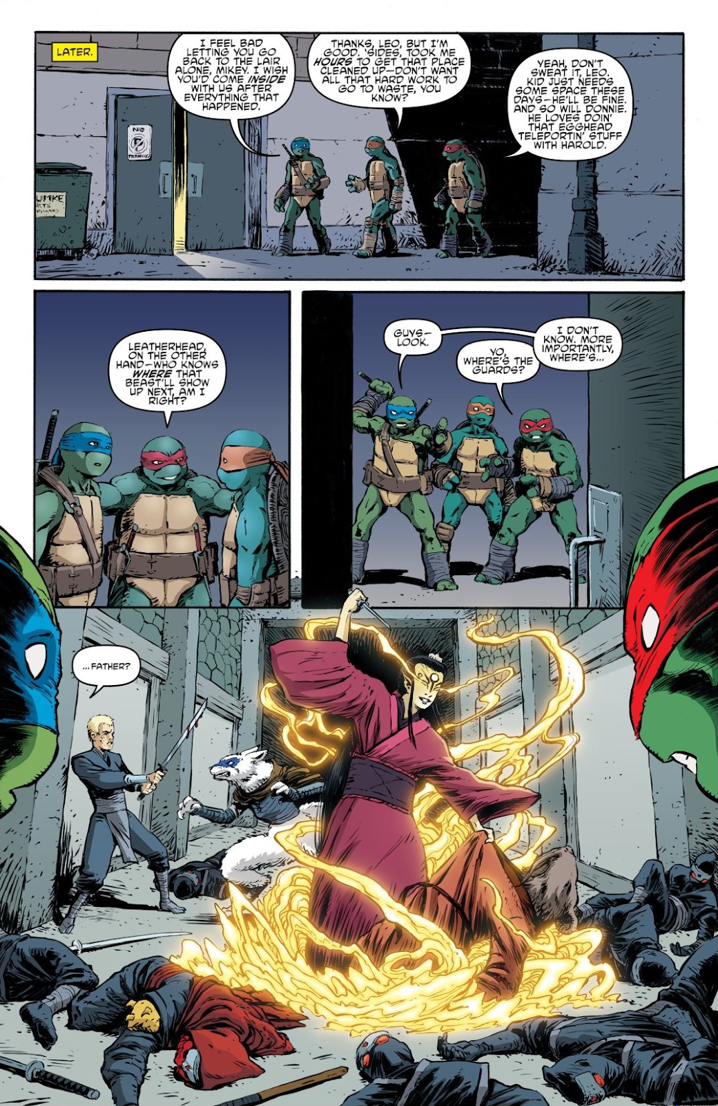 Read online Teenage Mutant Ninja Turtles: The IDW Collection comic -  Issue # TPB 7 (Part 2) - 83