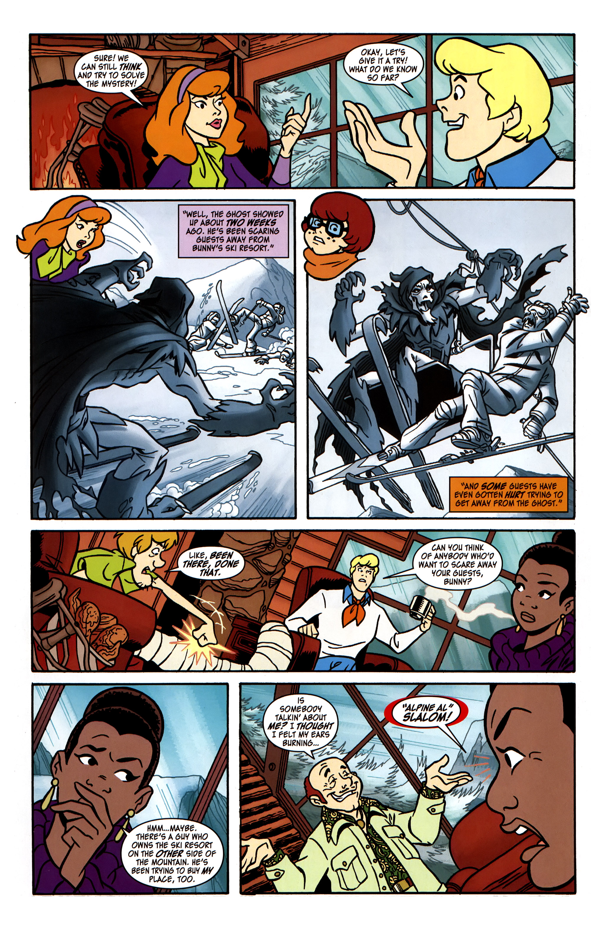 Read online Scooby-Doo: Where Are You? comic -  Issue #31 - 7