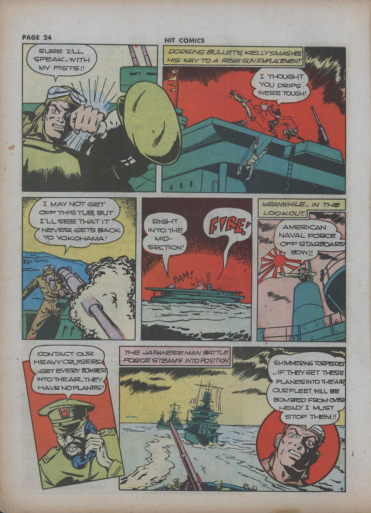Read online Hit Comics comic -  Issue #22 - 26
