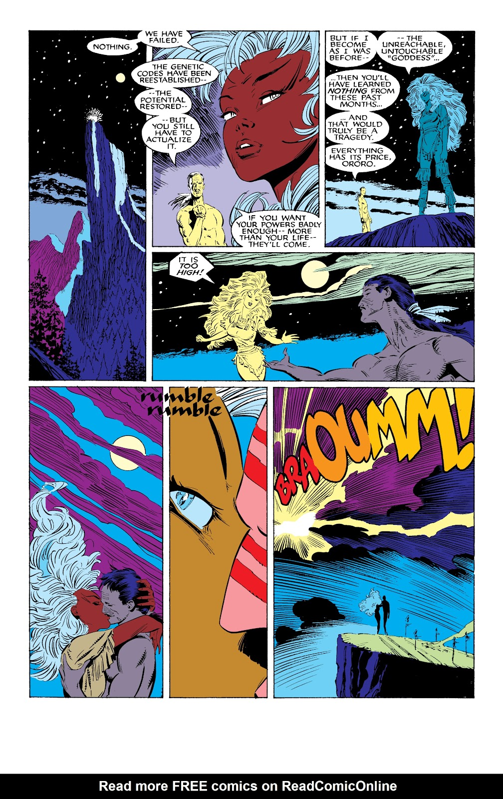 Read online X-Men Milestones: Fall of the Mutants comic -  Issue # TPB (Part 1) - 64