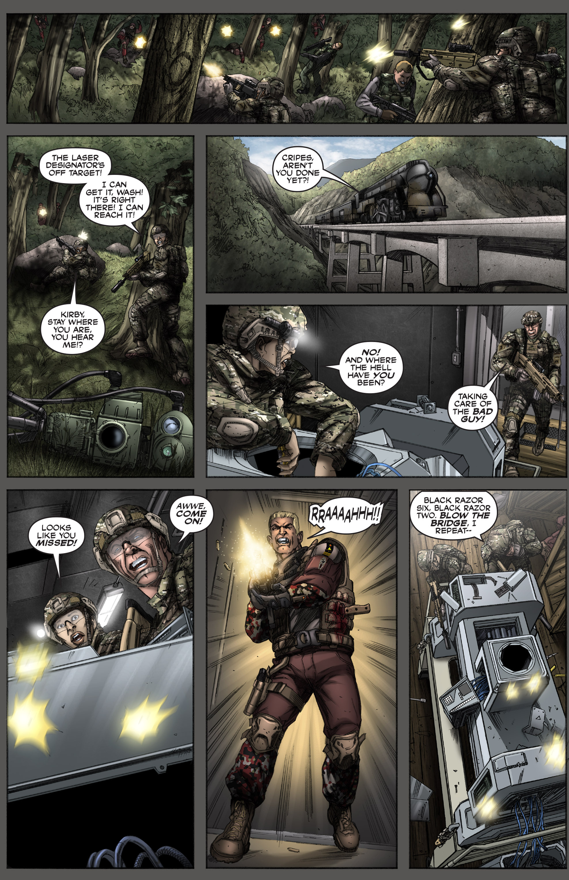 Read online America's Army comic -  Issue #12 - 20