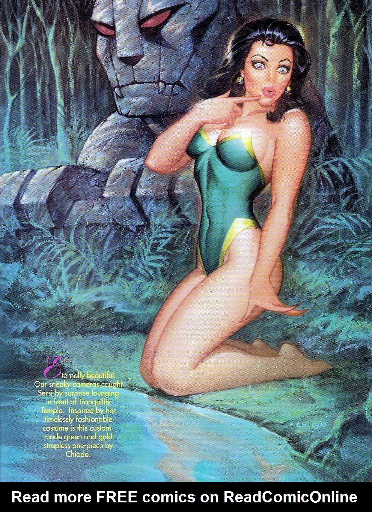 Read online Marvel Swimsuit Special comic -  Issue #1 - 29