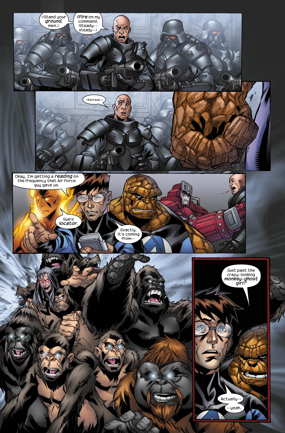 Read online Ultimate Fantastic Four (2004) comic -  Issue #49 - 16