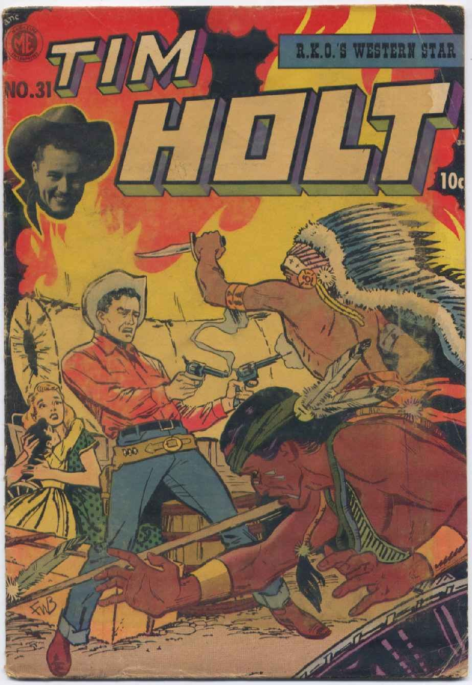 Tim Holt 31 Page 1