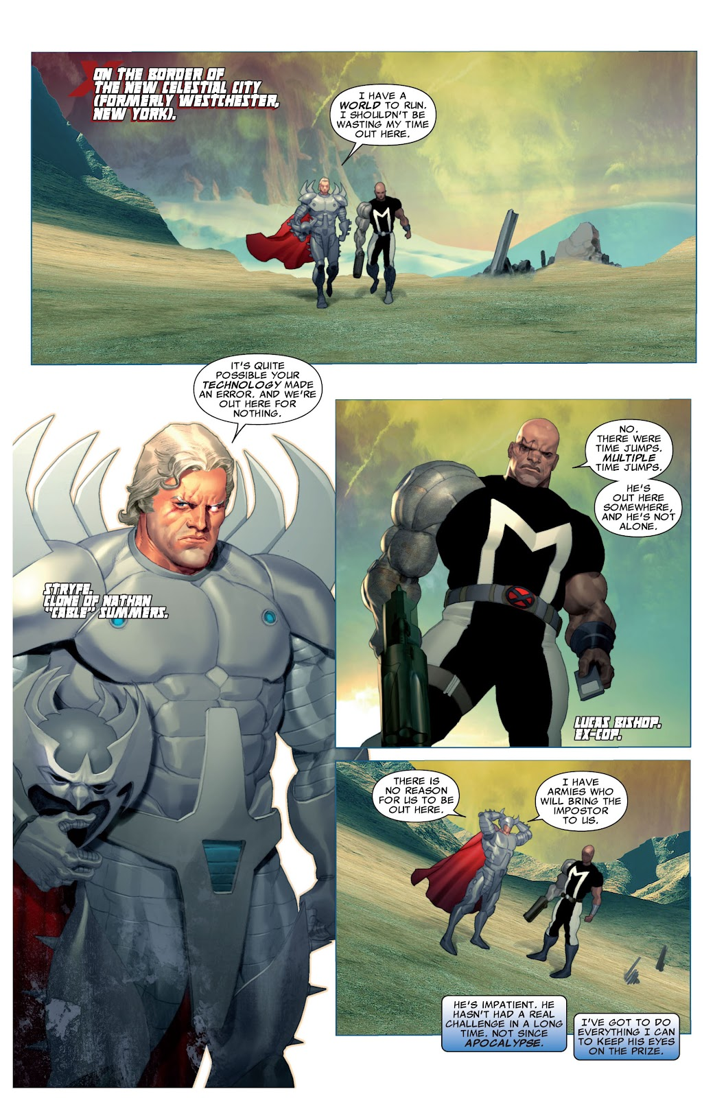 Read online X-Force/Cable: Messiah War comic -  Issue # _TPB (Part 2) - 6
