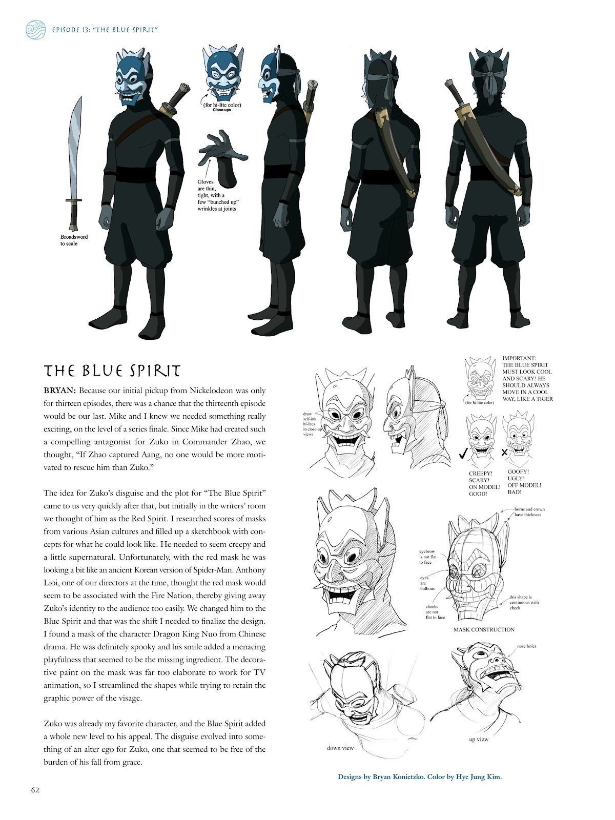 Read online Avatar: The Last Airbender - The Art of the Animated Series comic -  Issue # TPB (Part 1) - 63