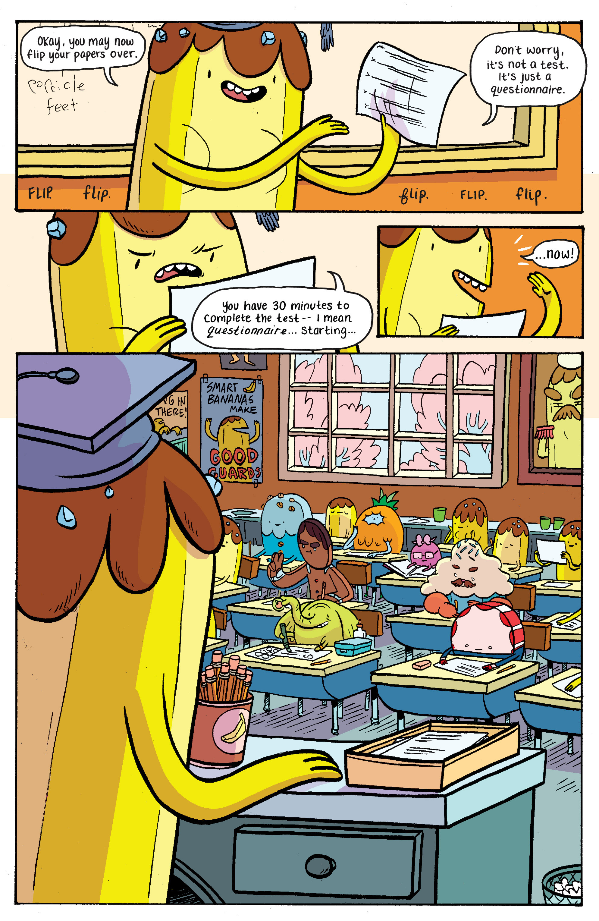 Read online Adventure Time: Banana Guard Academ comic -  Issue #2 - 9